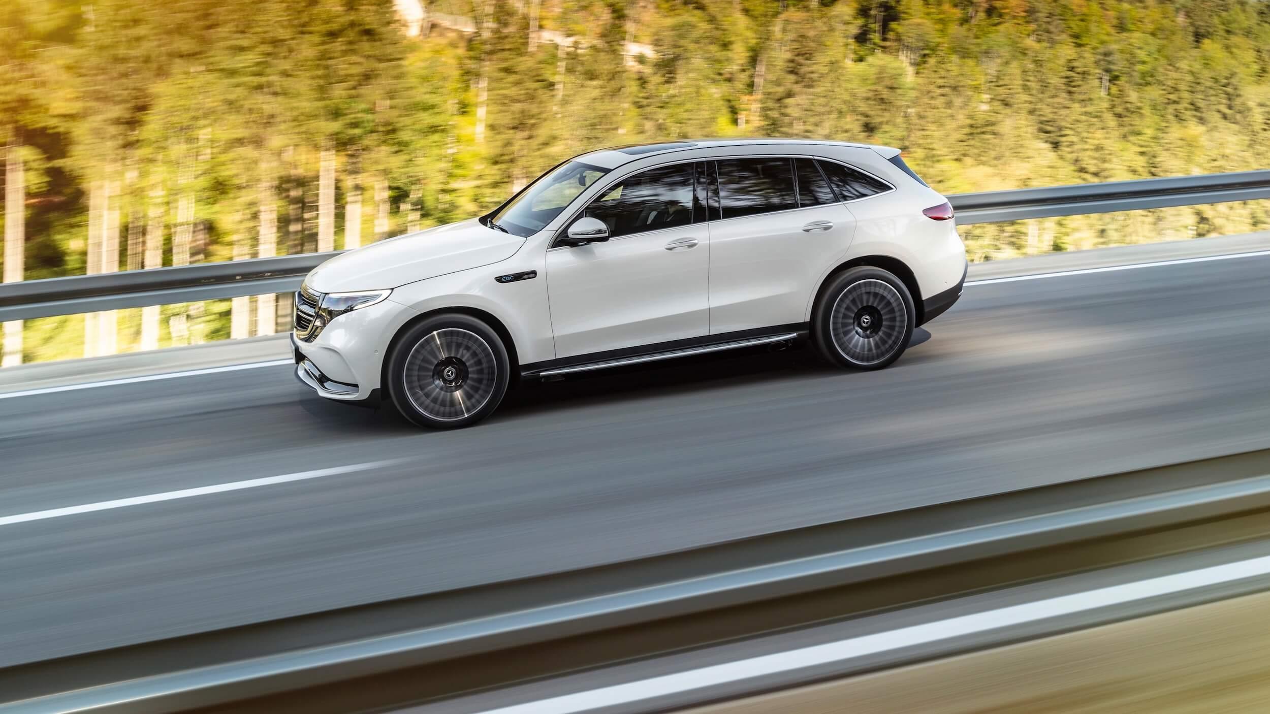 Mercedes EQC SUV elétrico