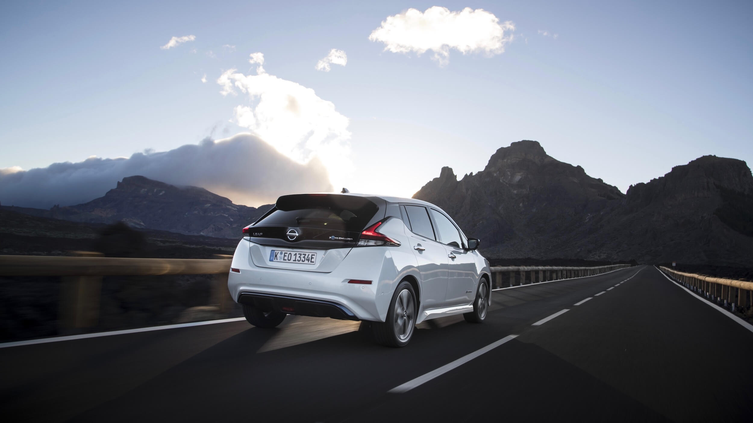 Nissan Leaf traseiro