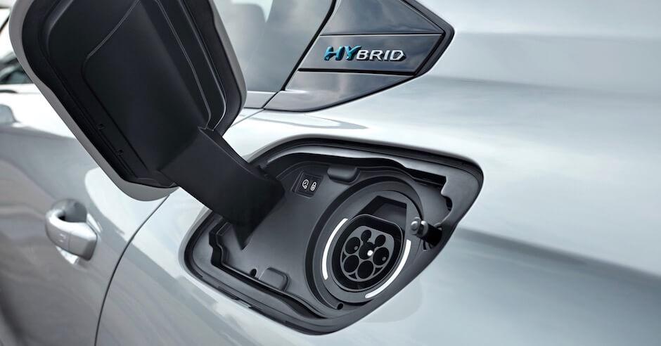 carro híbrido plug-in