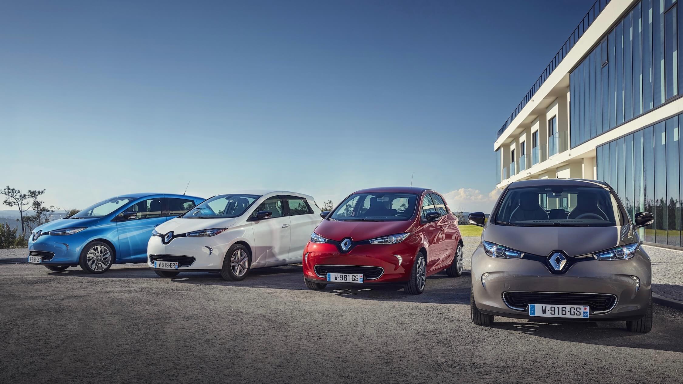 Renault Zoe cores