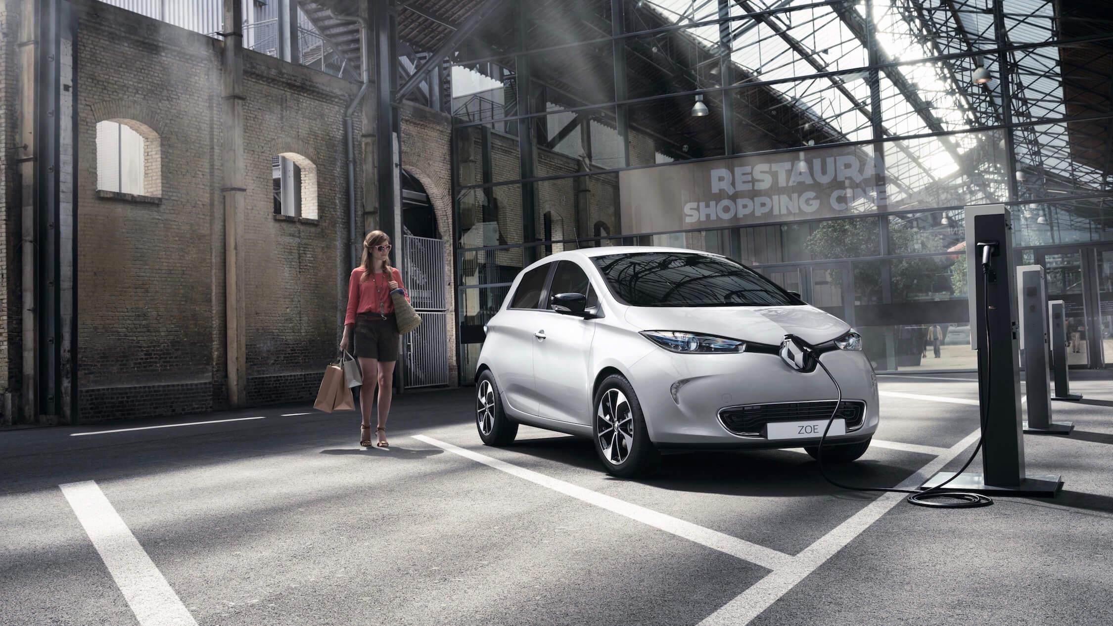 Renault Zoe ponto de carga