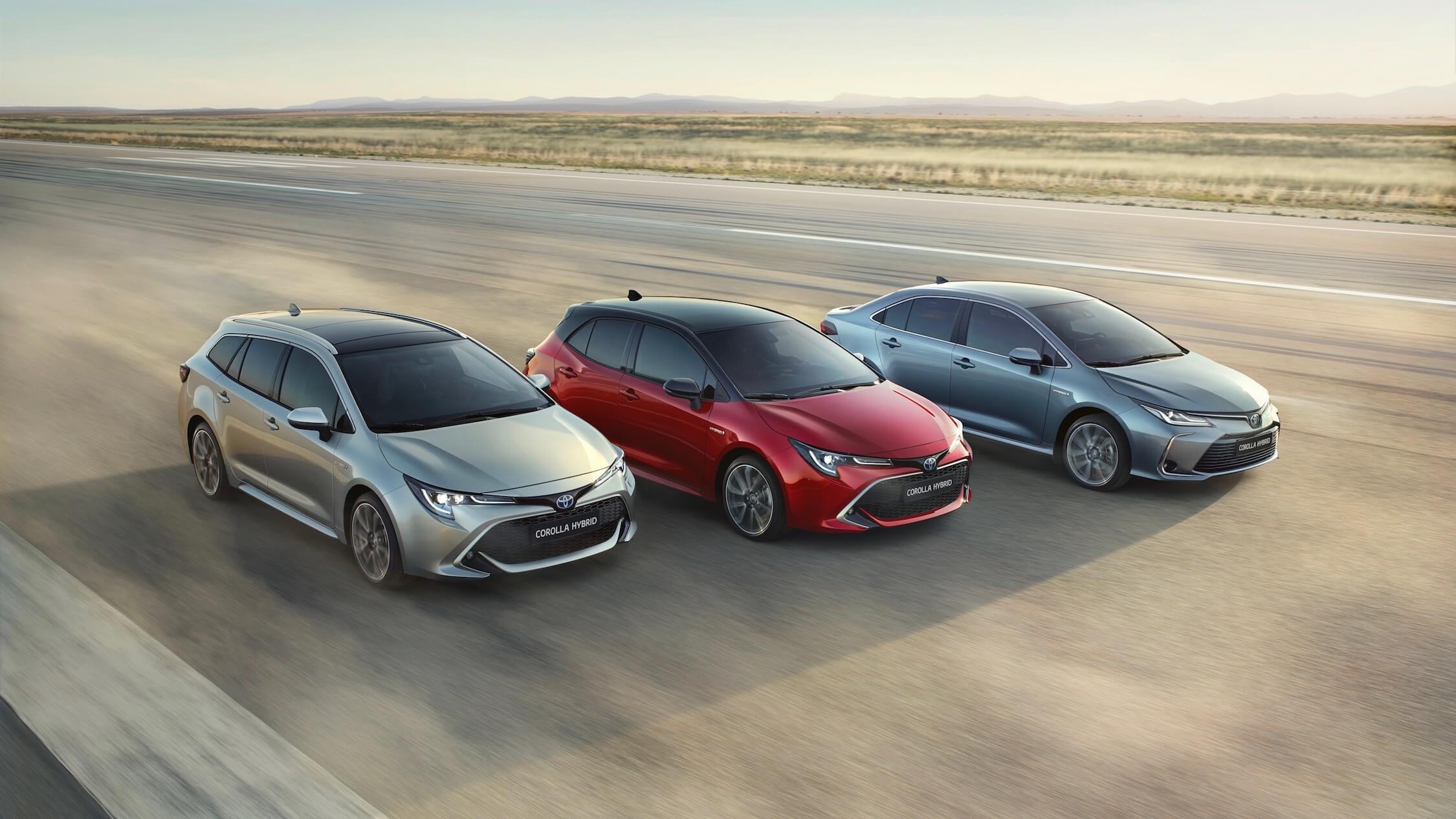 Toyota Corolla sedan touring hatchback