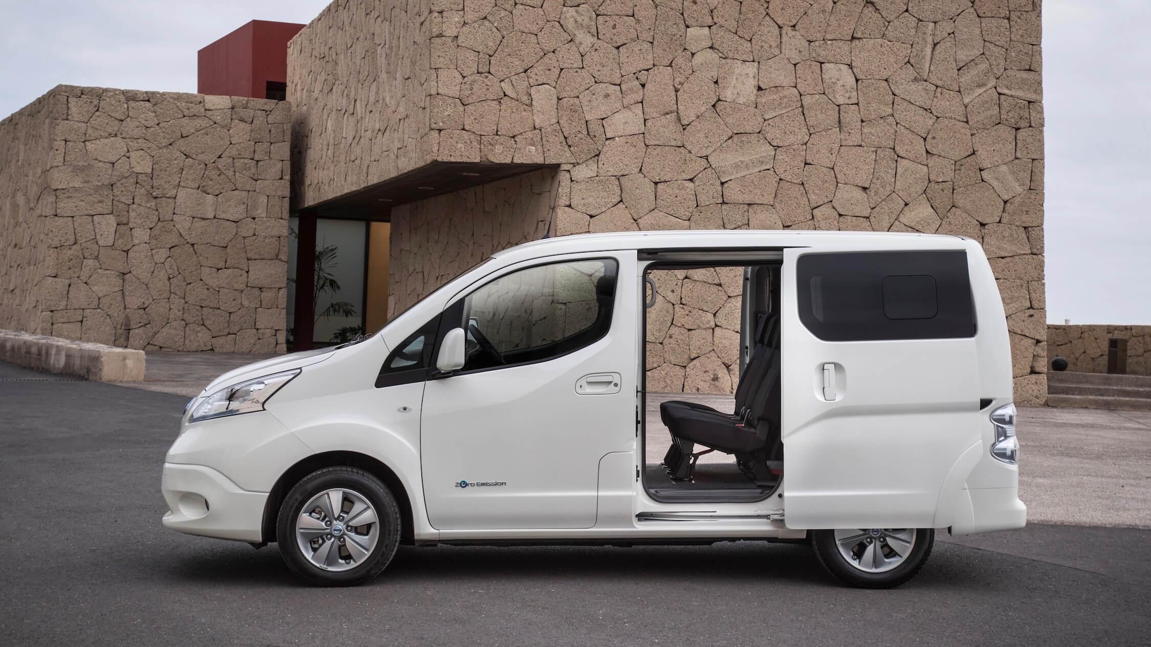 Nissan e-NV200 Evalia furgão