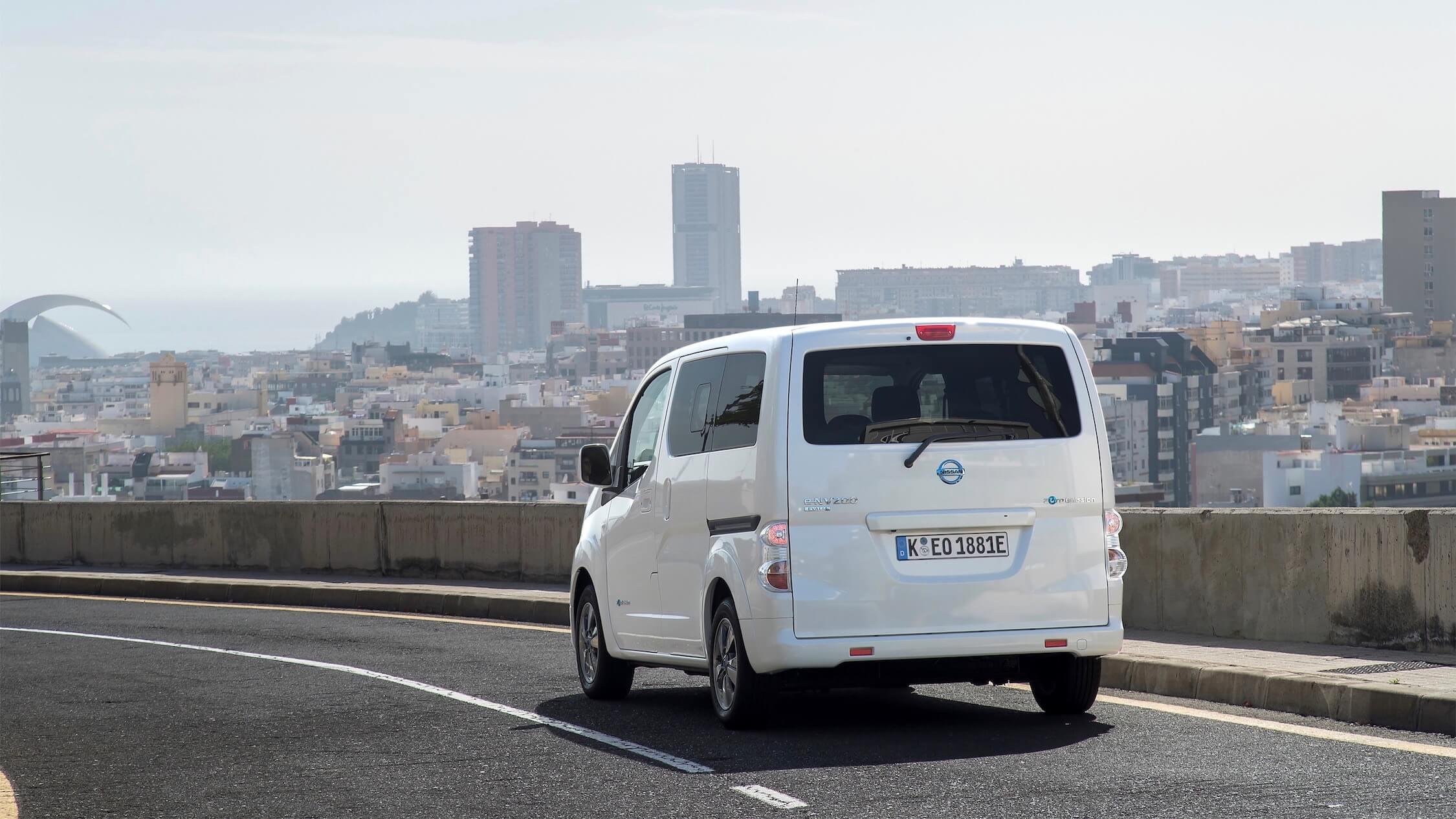 Nissan e-NV200 carrinha elétrica