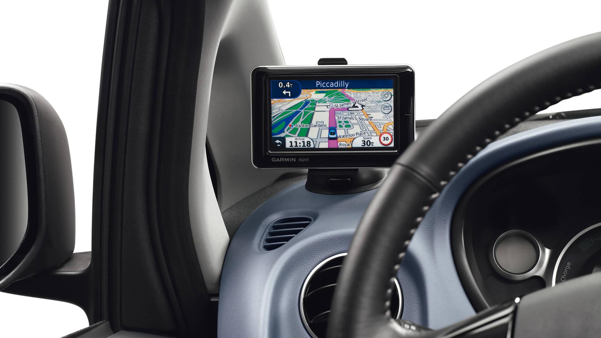Peugeot iON navegação