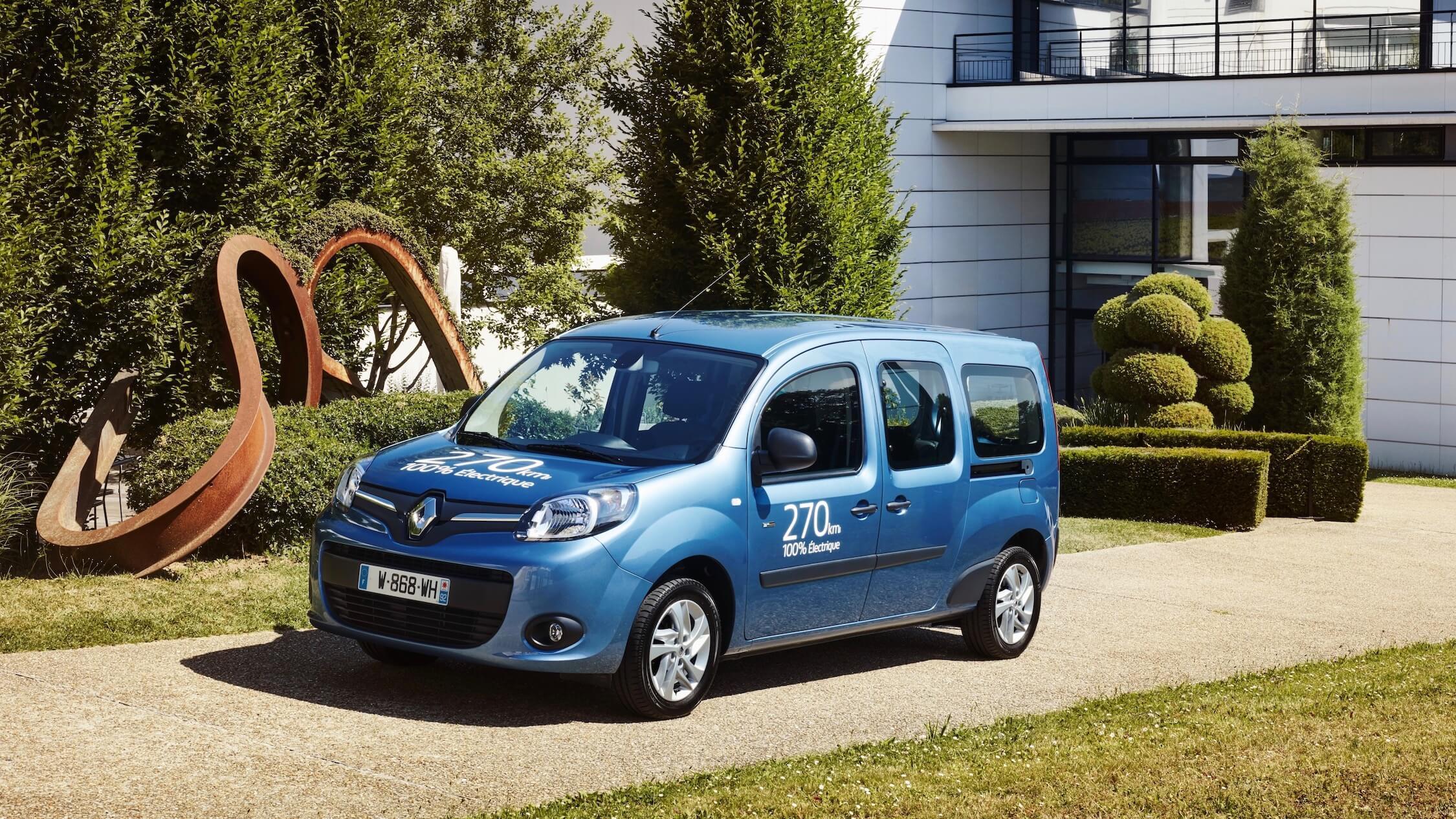 Renault Kangoo carro elétrico