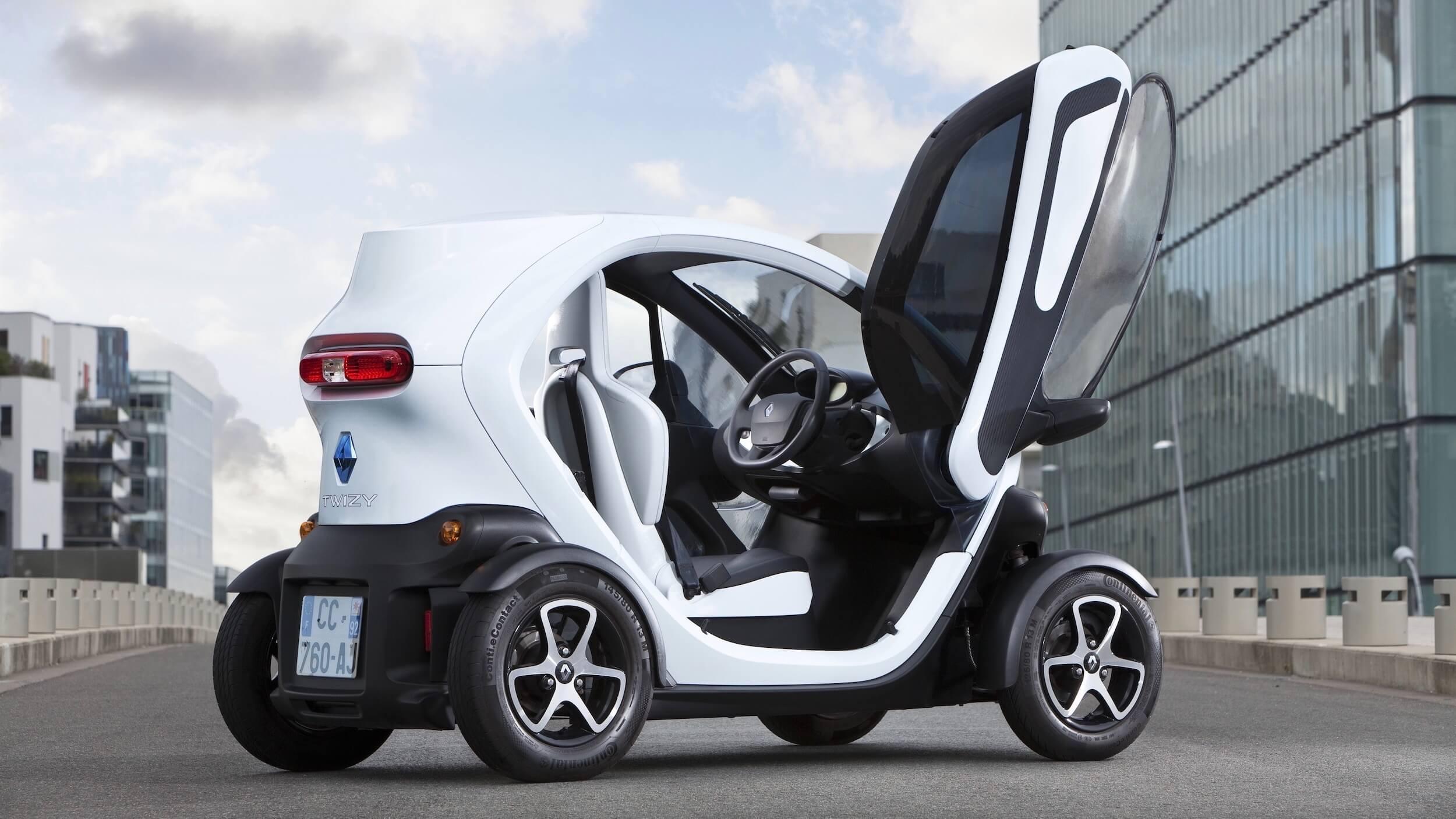 Renault Twizy portas
