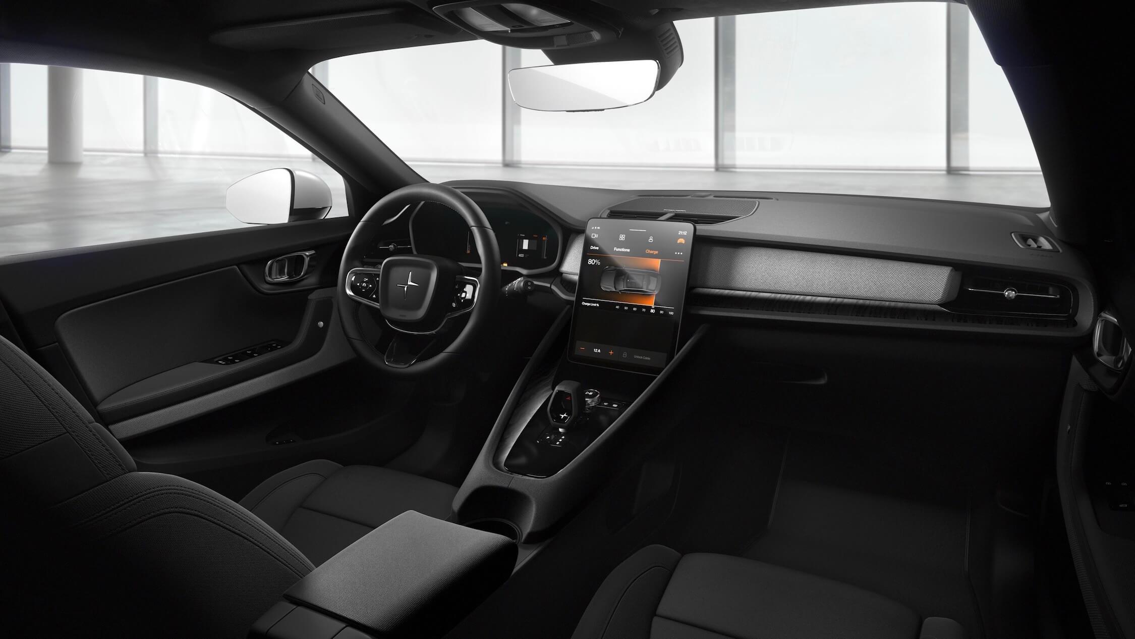 Volvo Polestar 2 interior