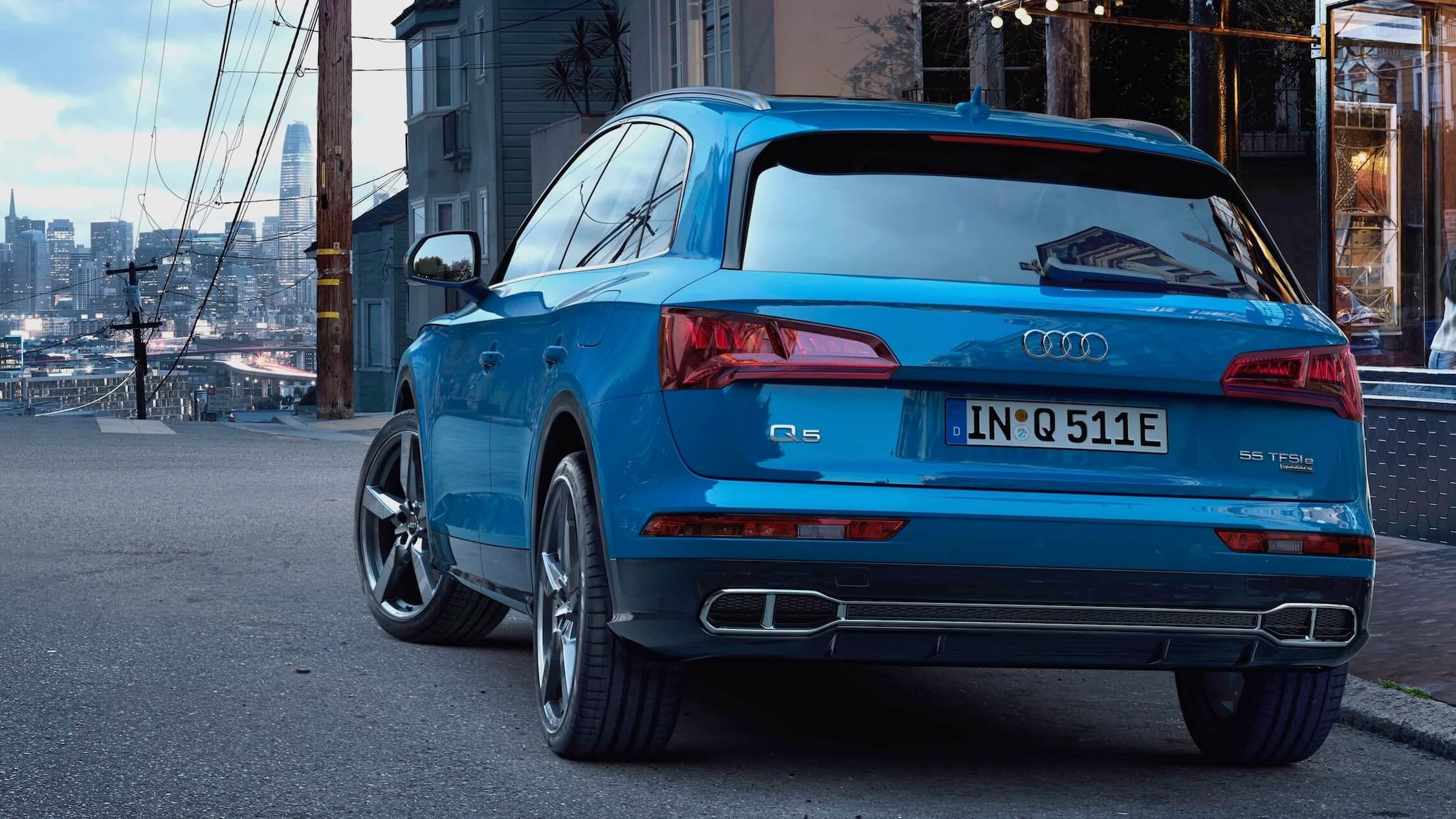 Audi Q5 traseira