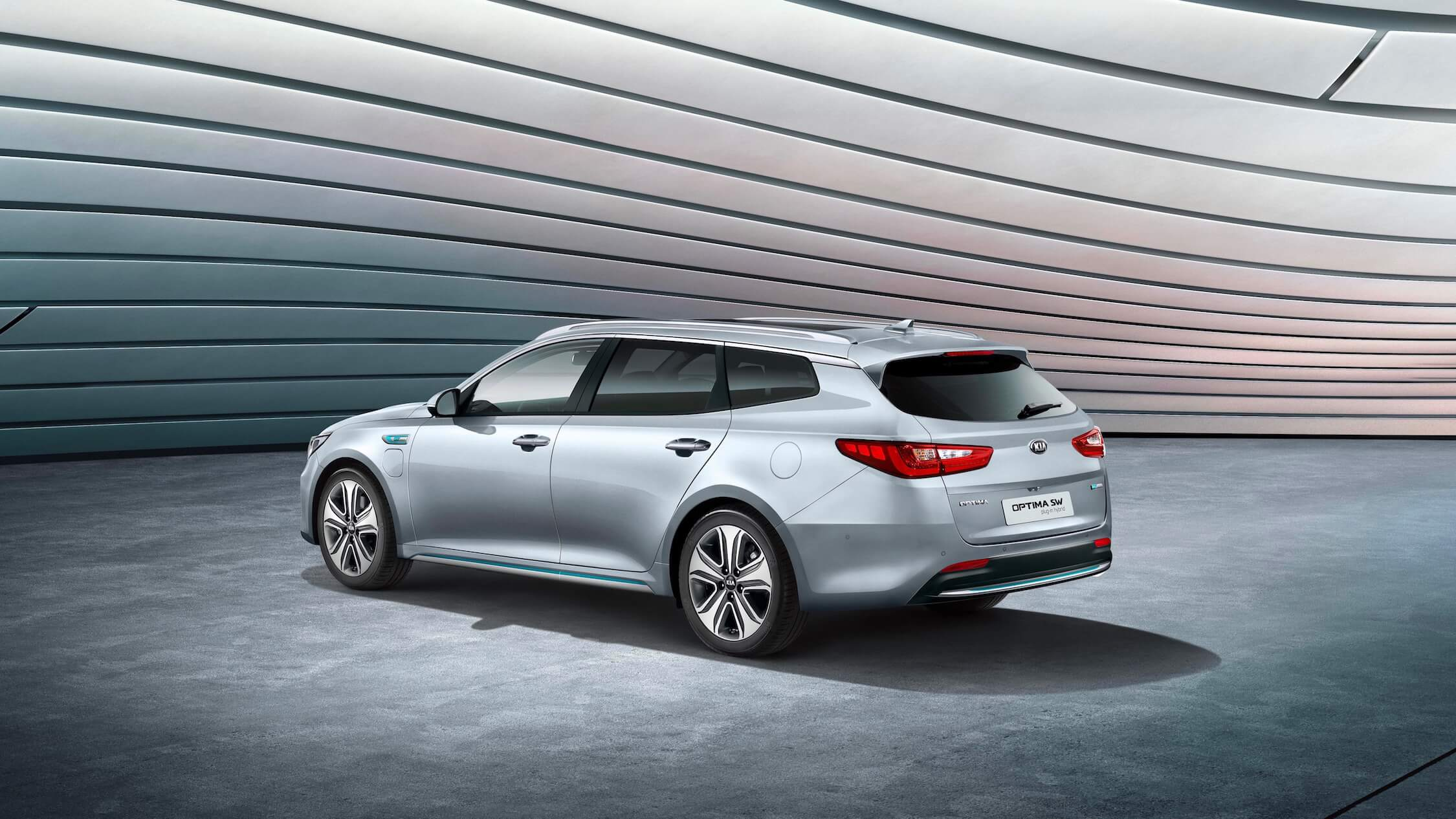 Kia Optima break híbrido