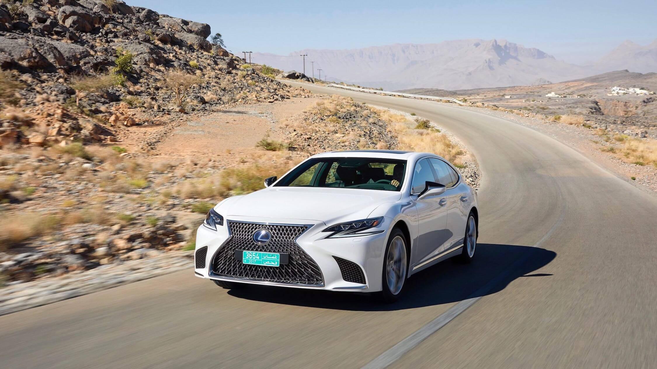 Lexus LS híbrido