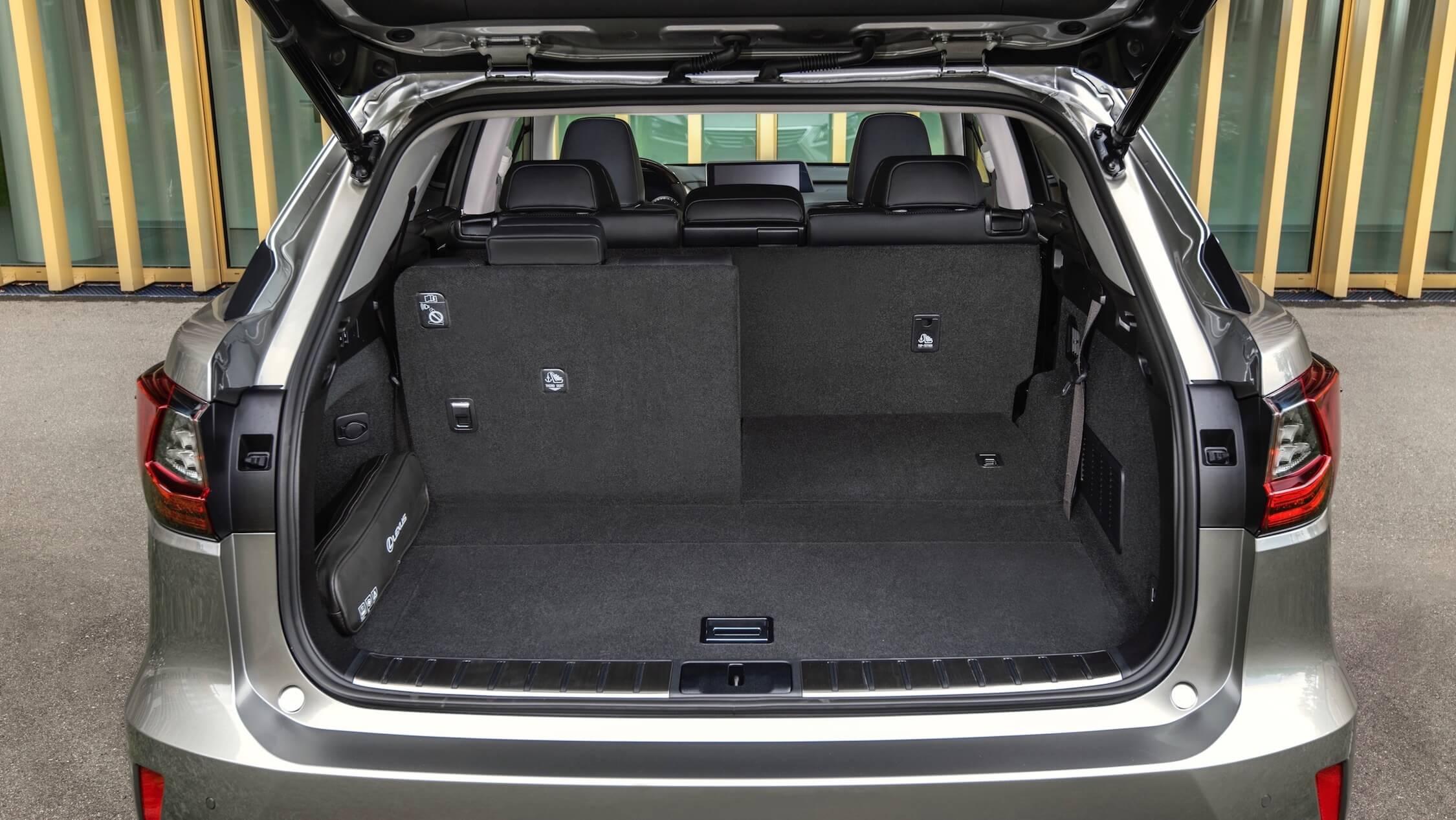 Lexus RX 450h porta-bagegens