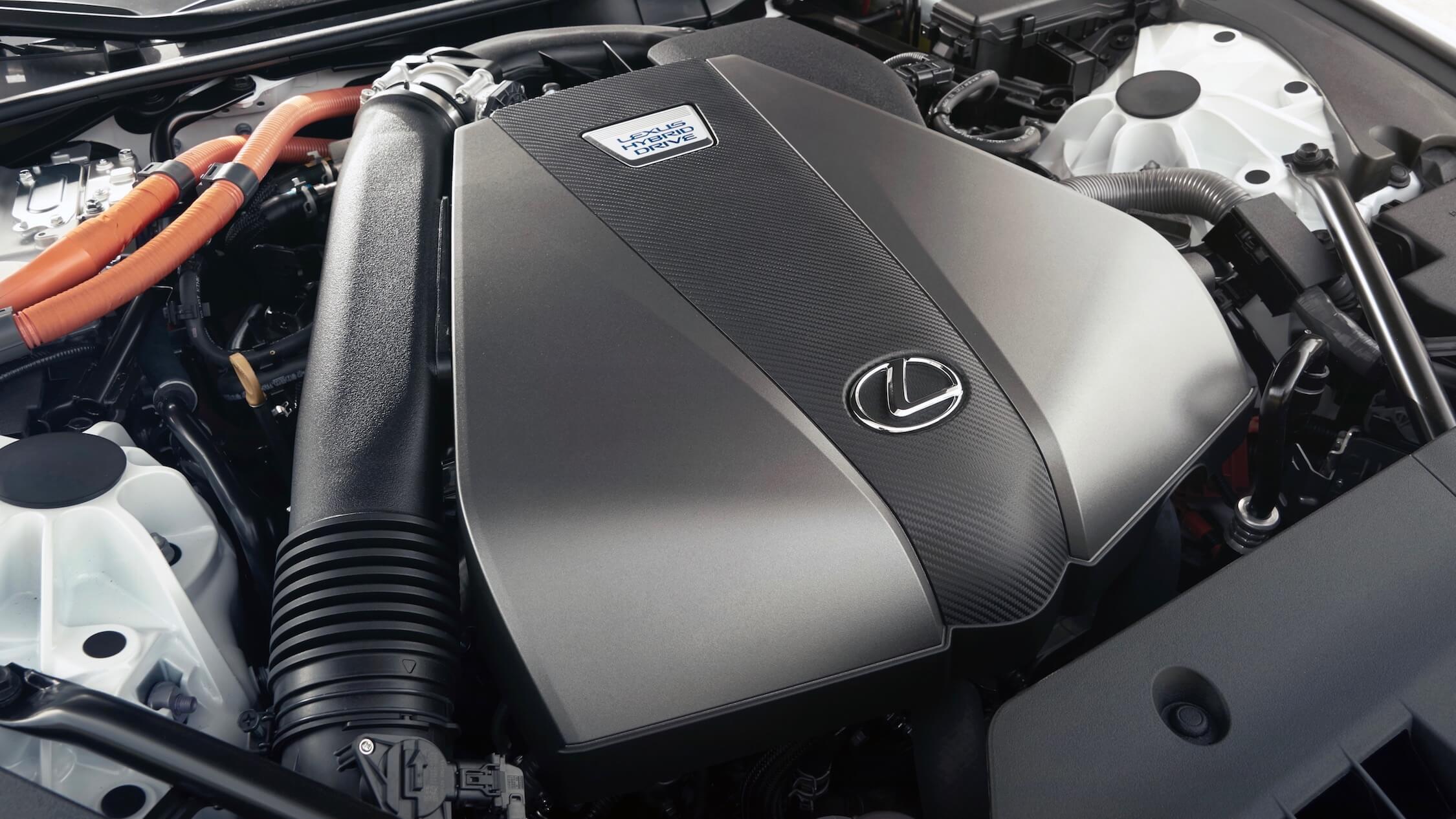 Lexus híbrido LC 500h motor
