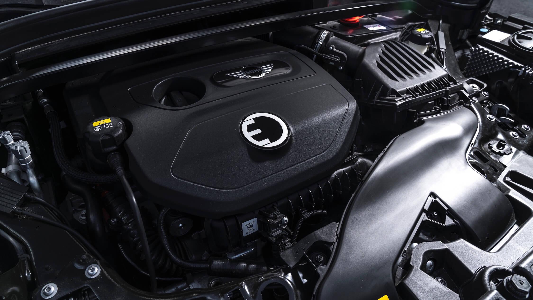 MINI Cooper S E híbrido motor