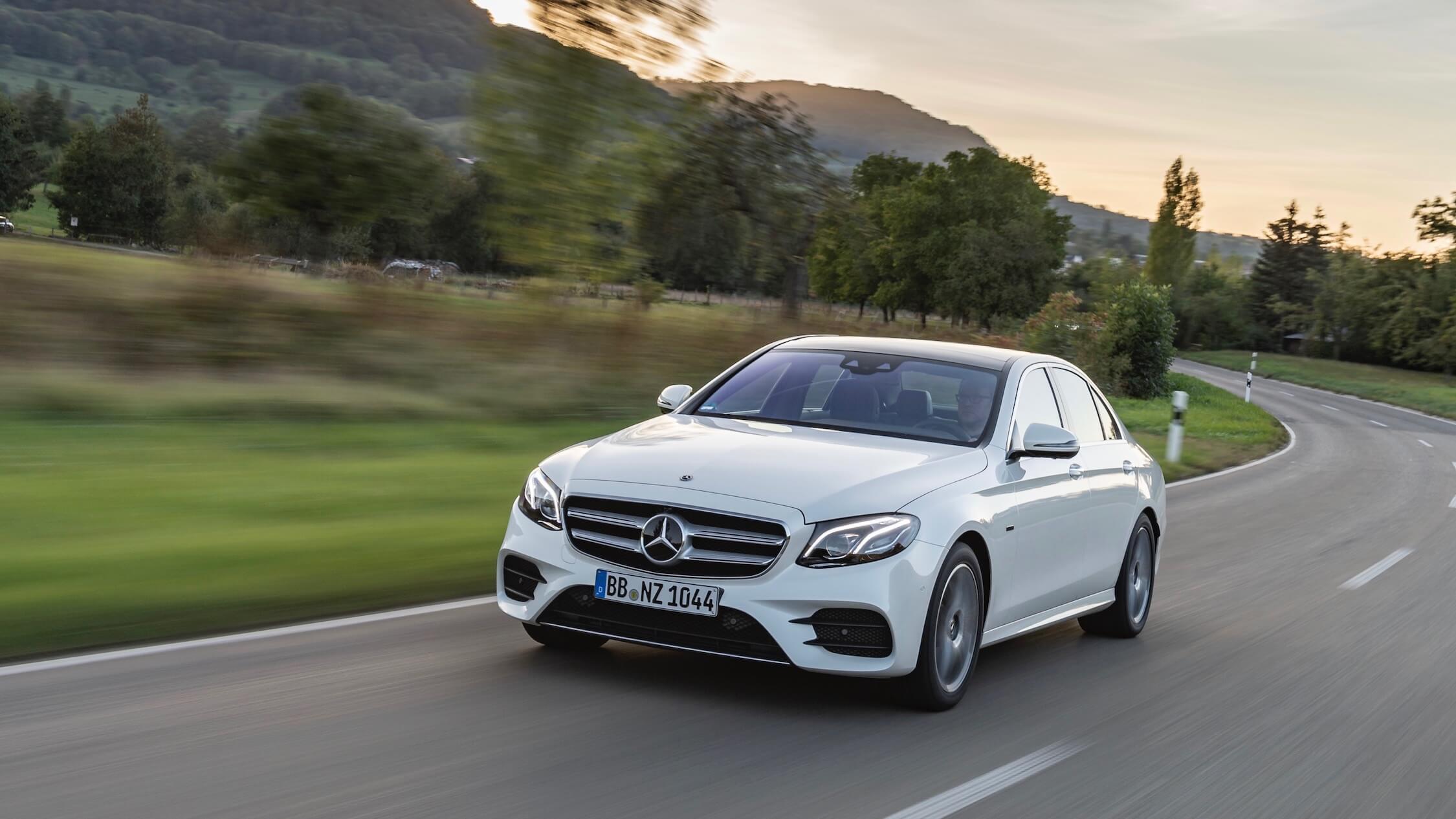 Mercedes E hybrid