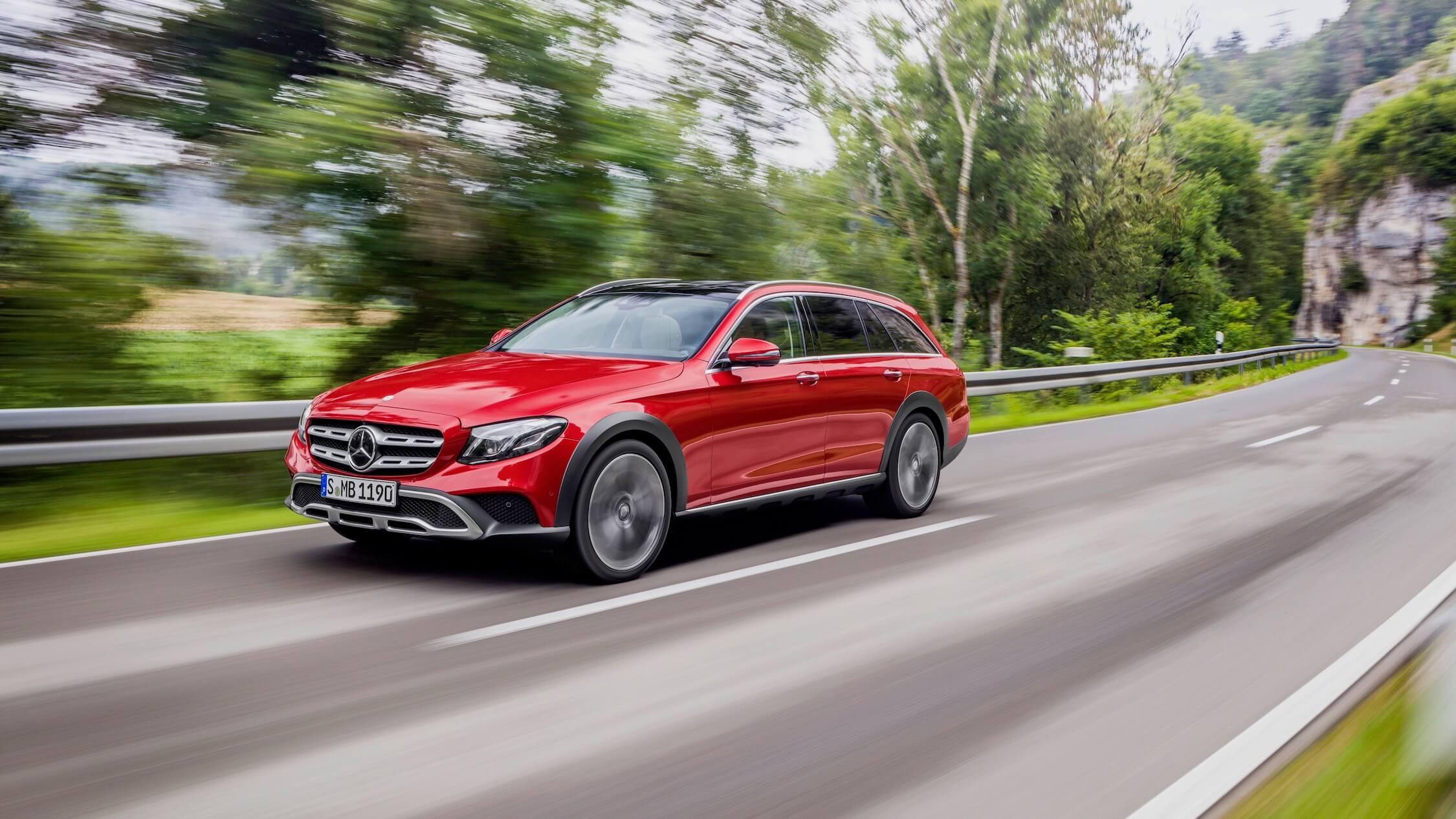 Mercedes E offroad