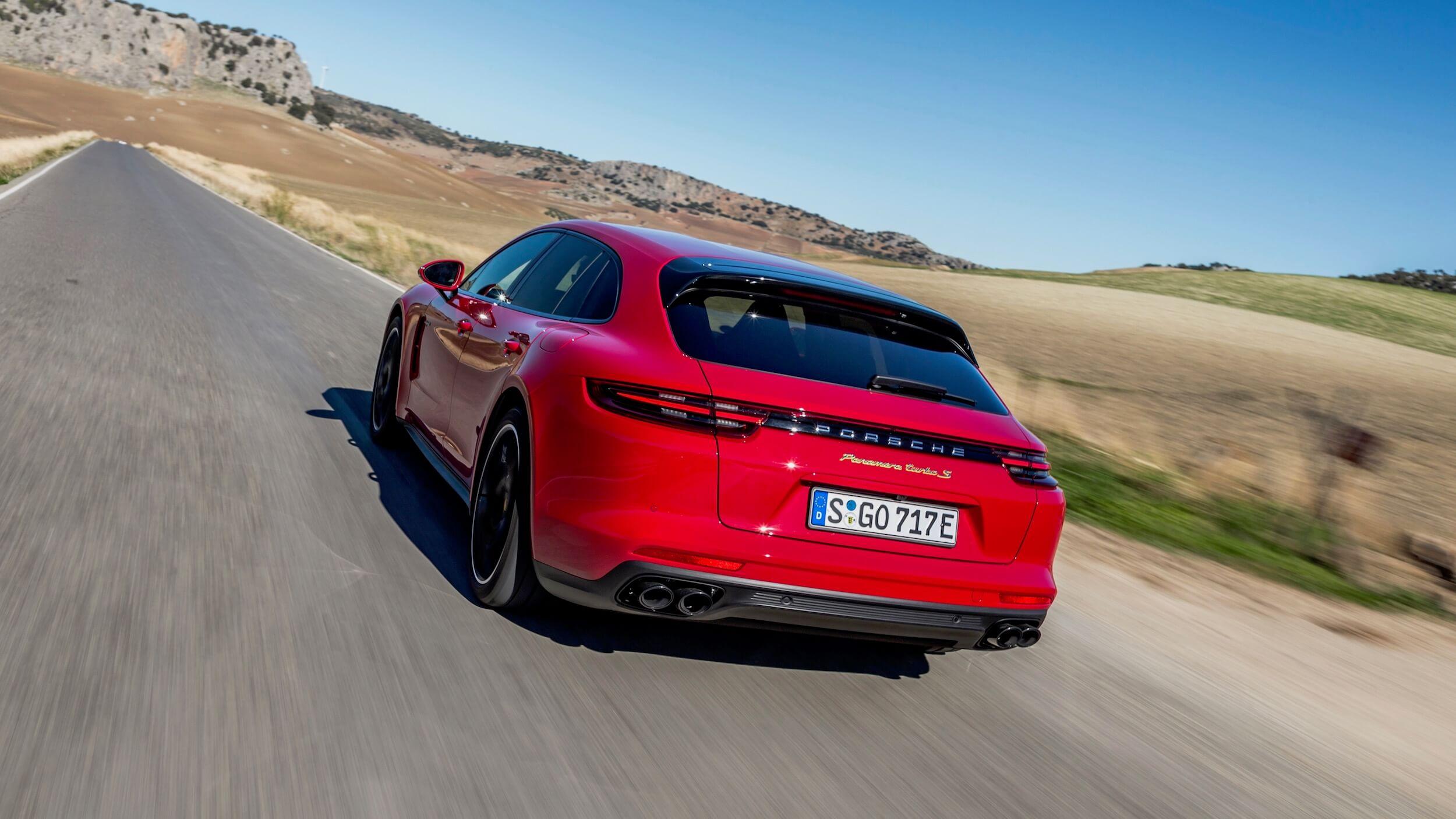 Porsche Sport Turismo híbrido plug-in