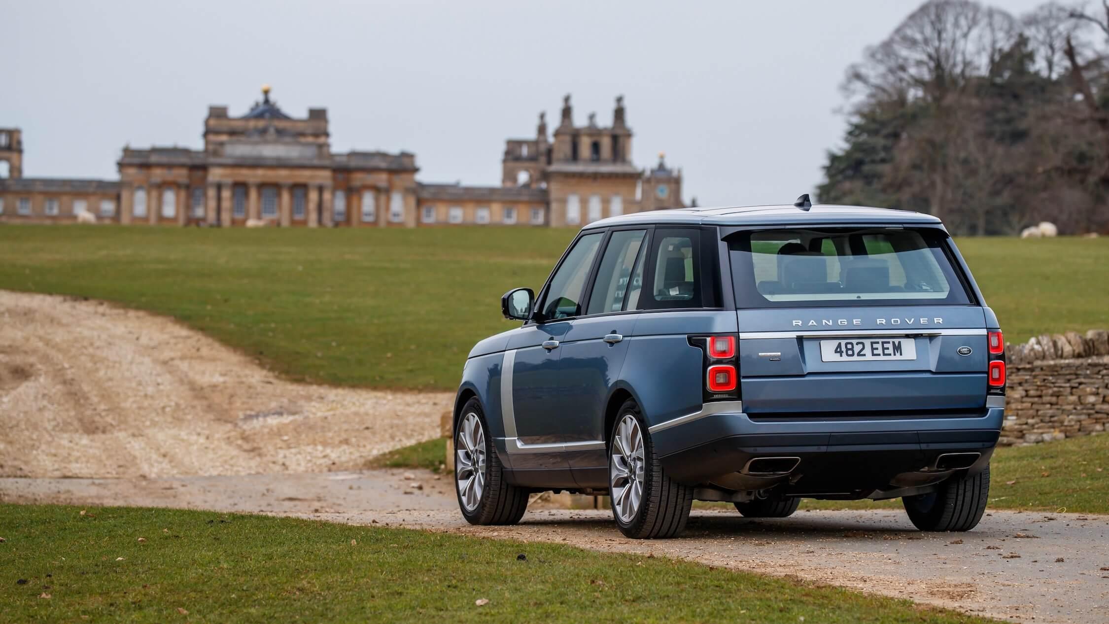 Range Rover hibrido plug-in