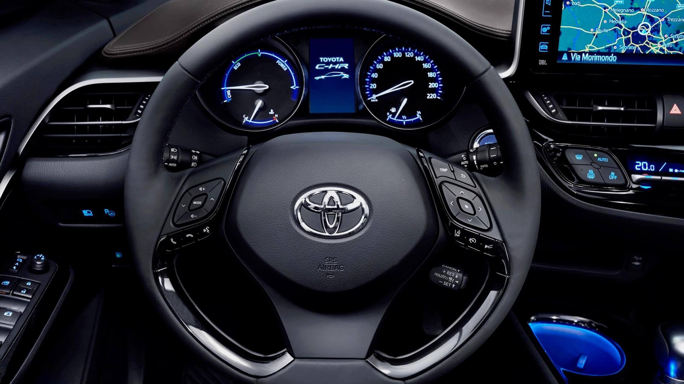 Toyota C-HR volante