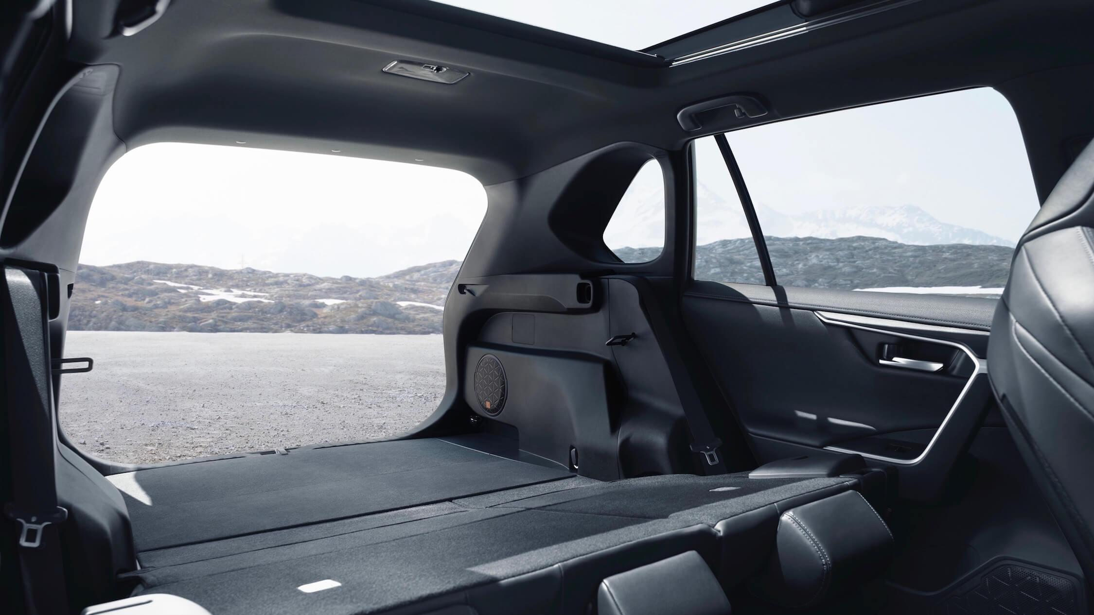 Toyota RAV4 porta-bagagens
