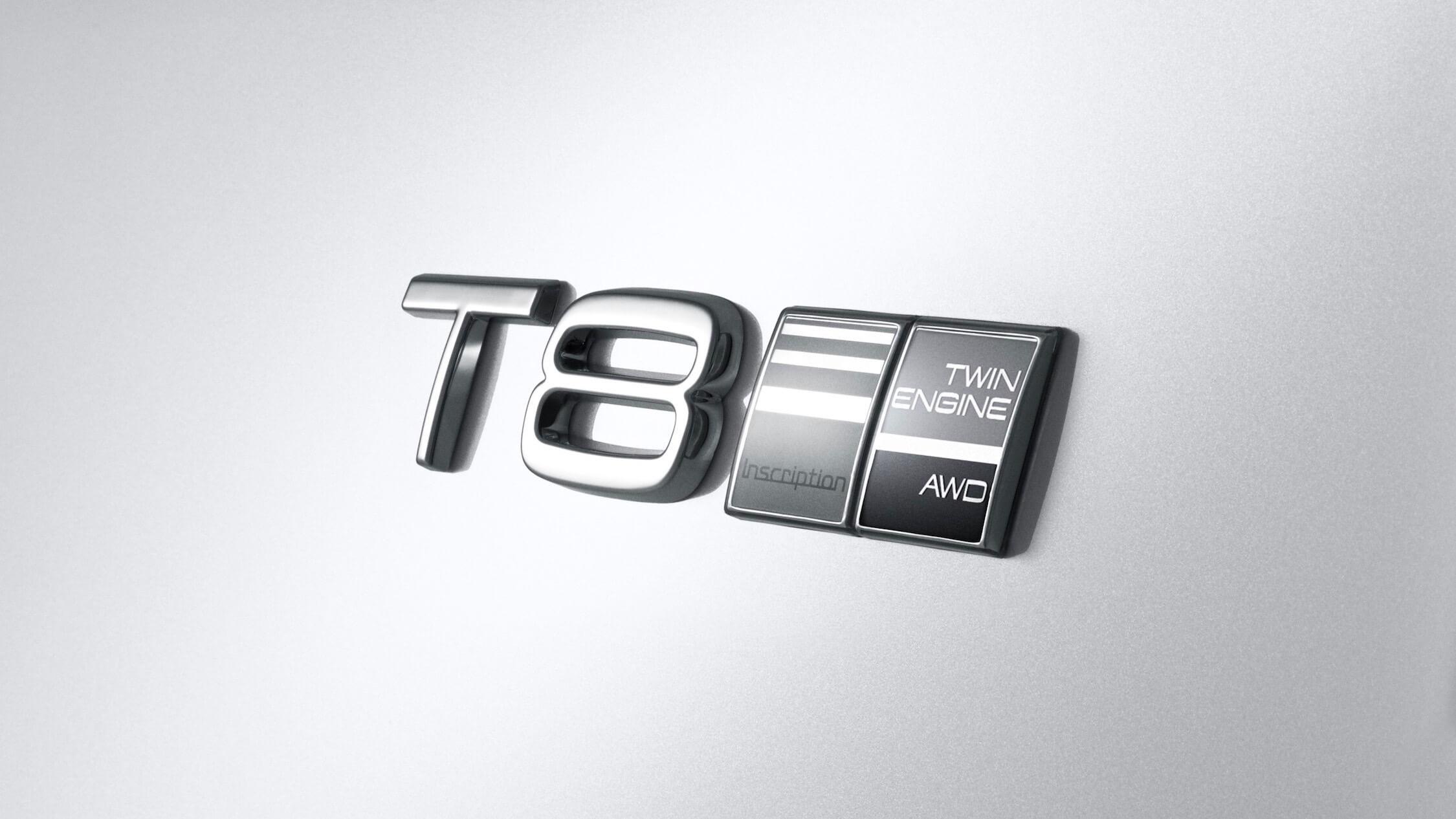 Volvo S90 T8 logotipo