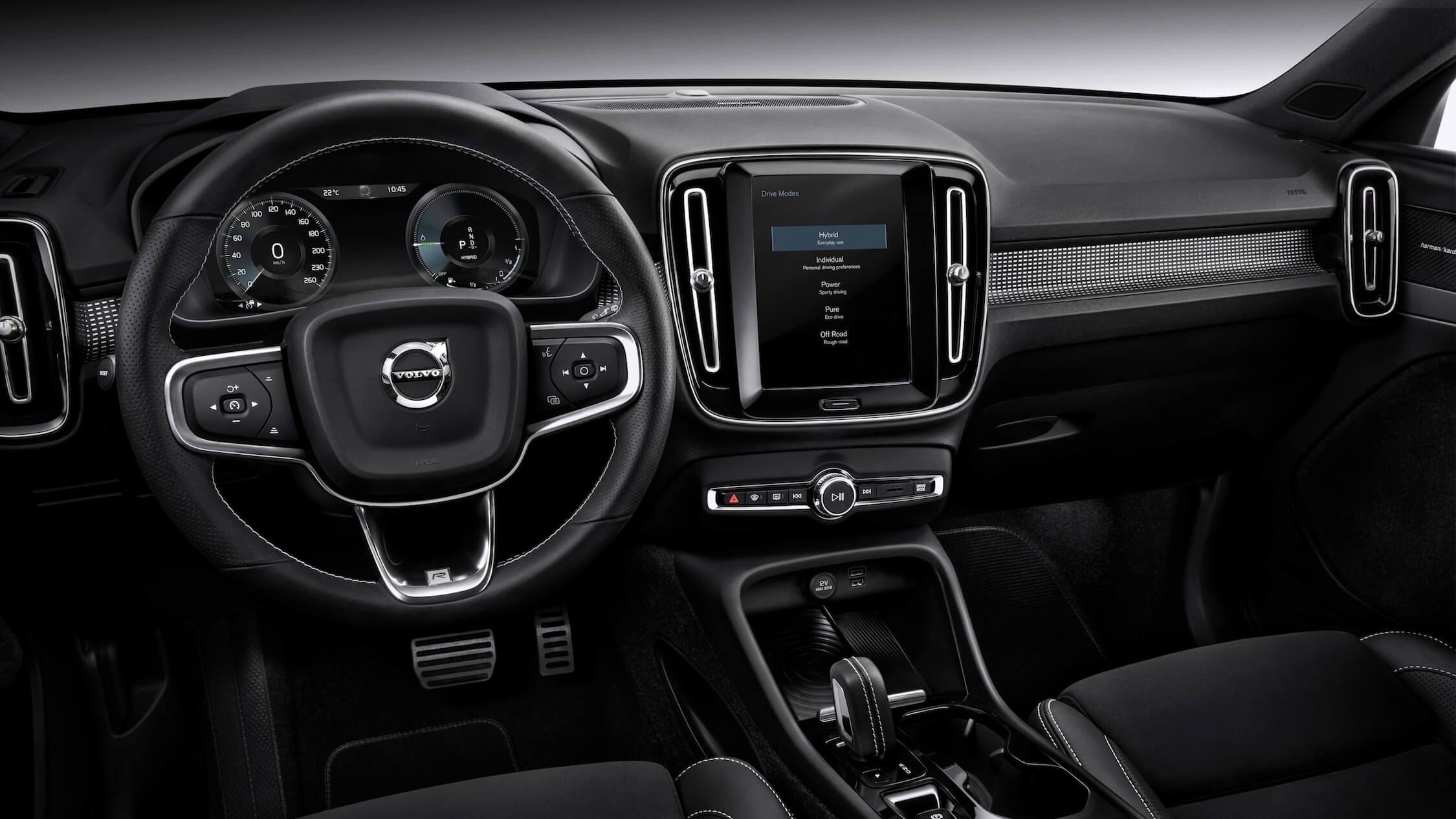 Volvo XC40 T5 interior