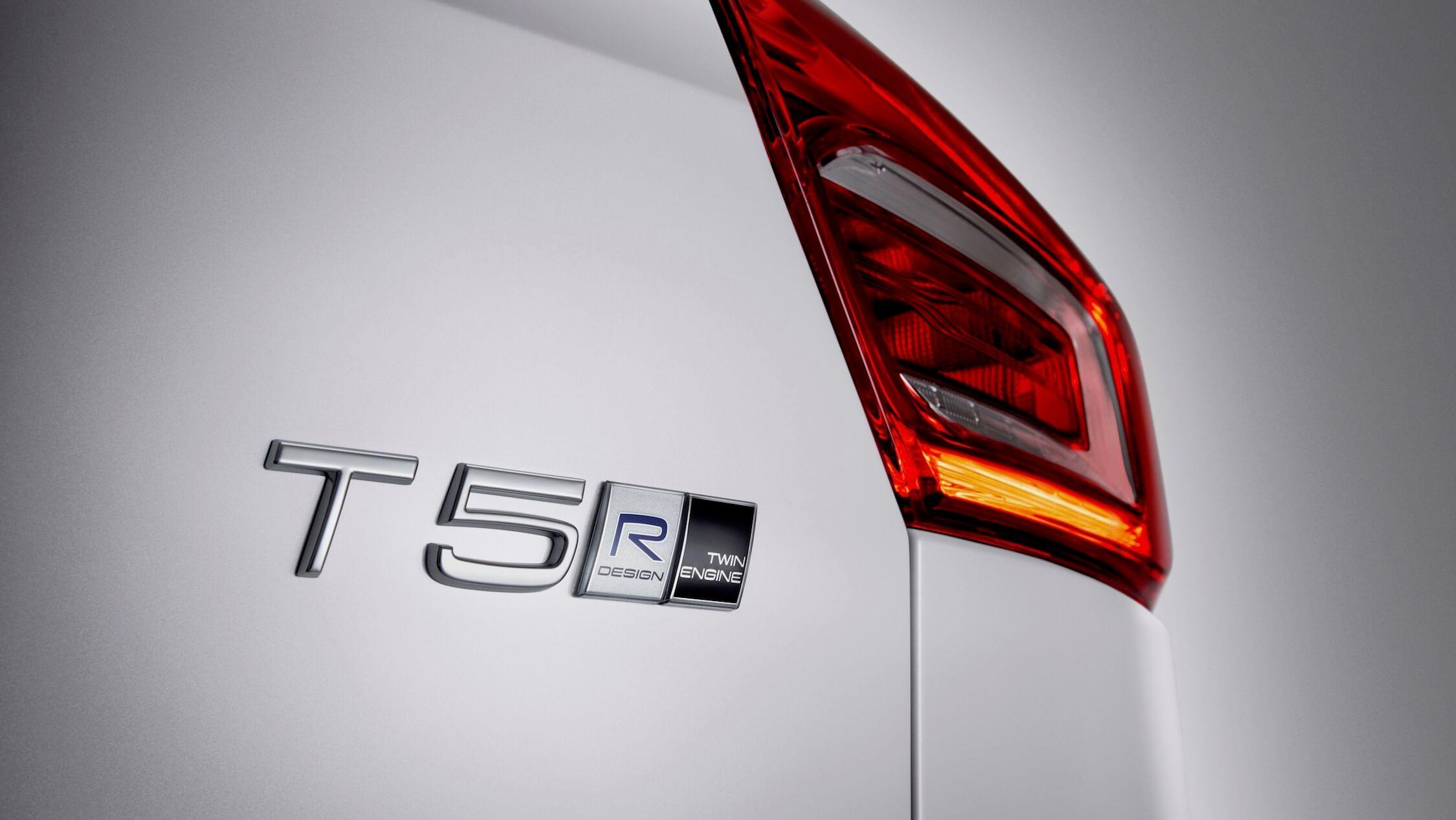 Volvo XC40 T5 logotipo