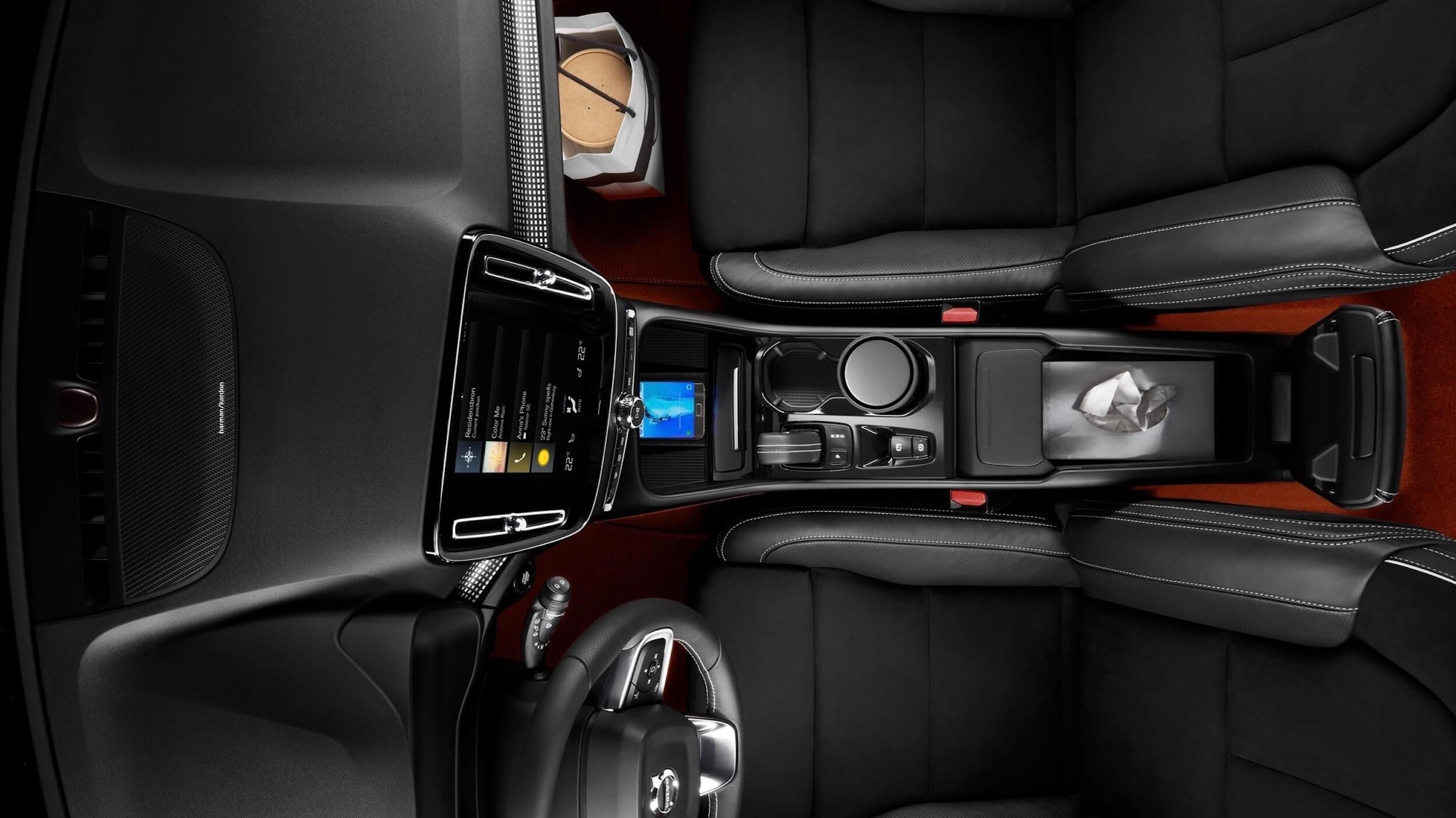 Volvo XC40 consola central