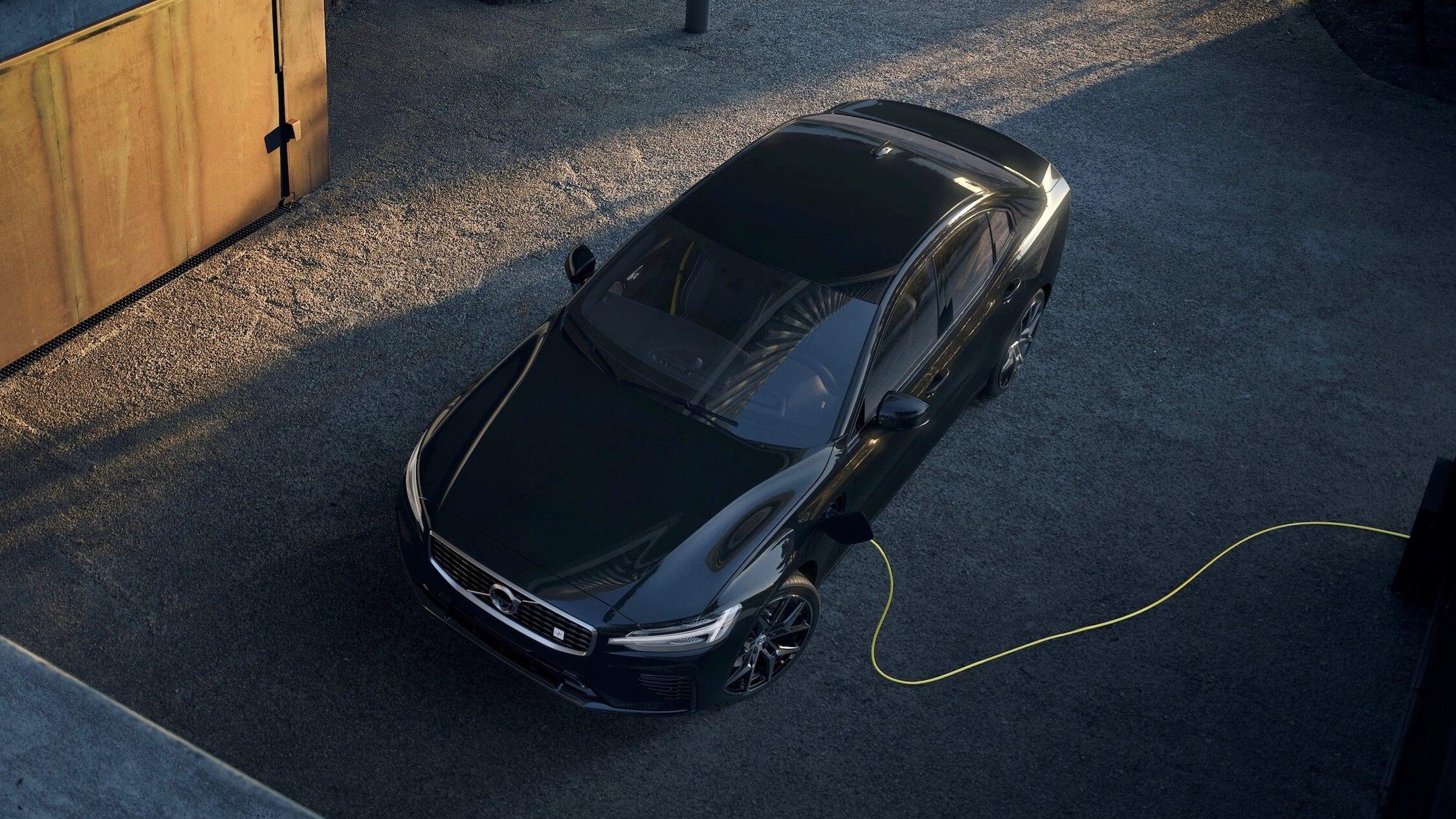 Carregar o Volvo S60 híbrido
