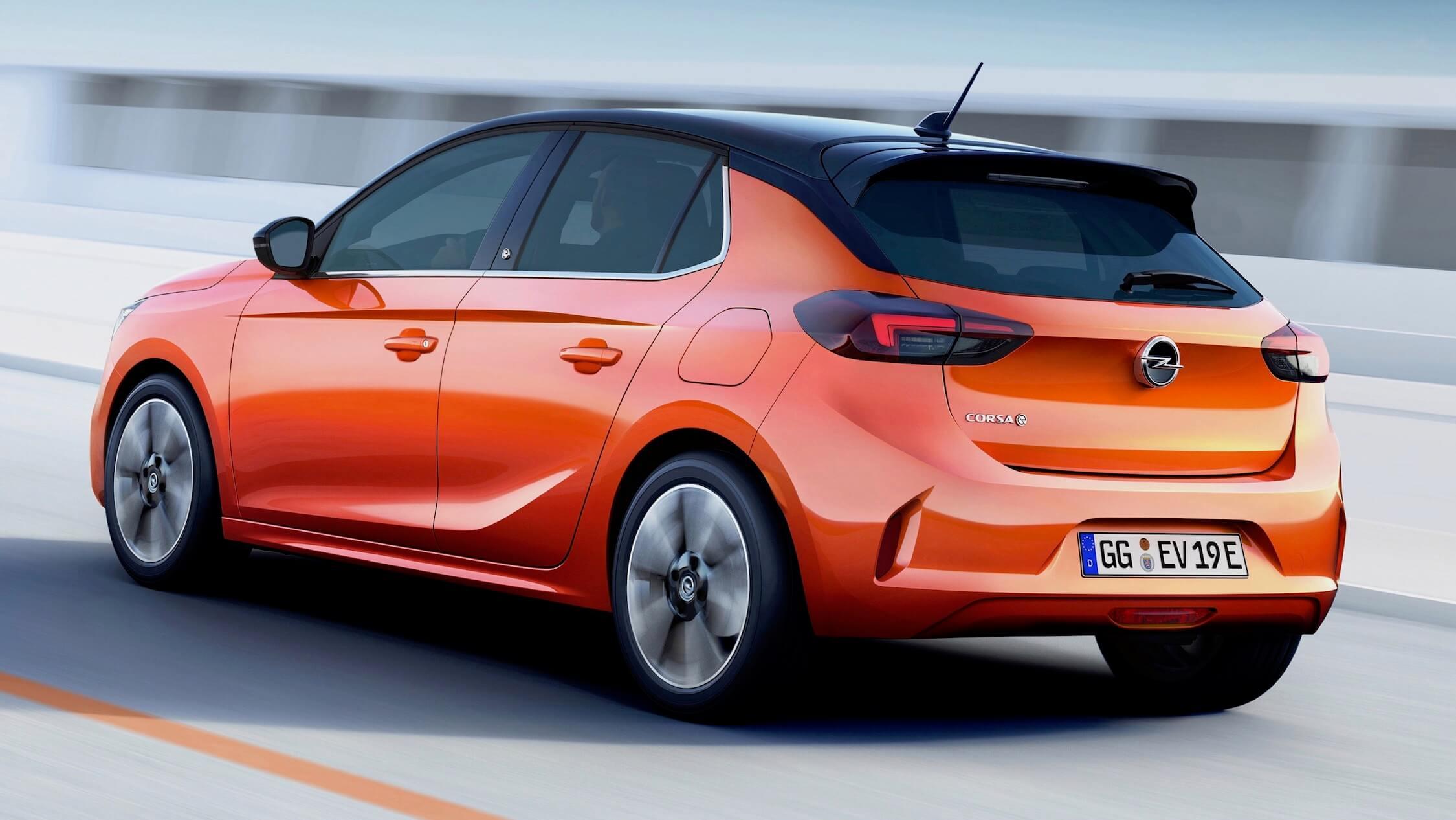 Opel Corsa carro elétrico