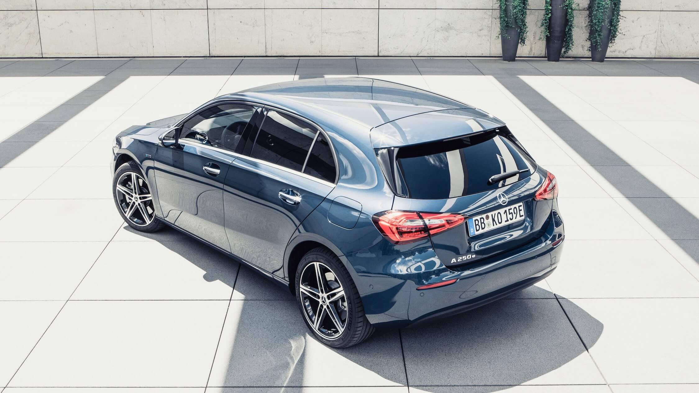 Mercedes A Class cinzento