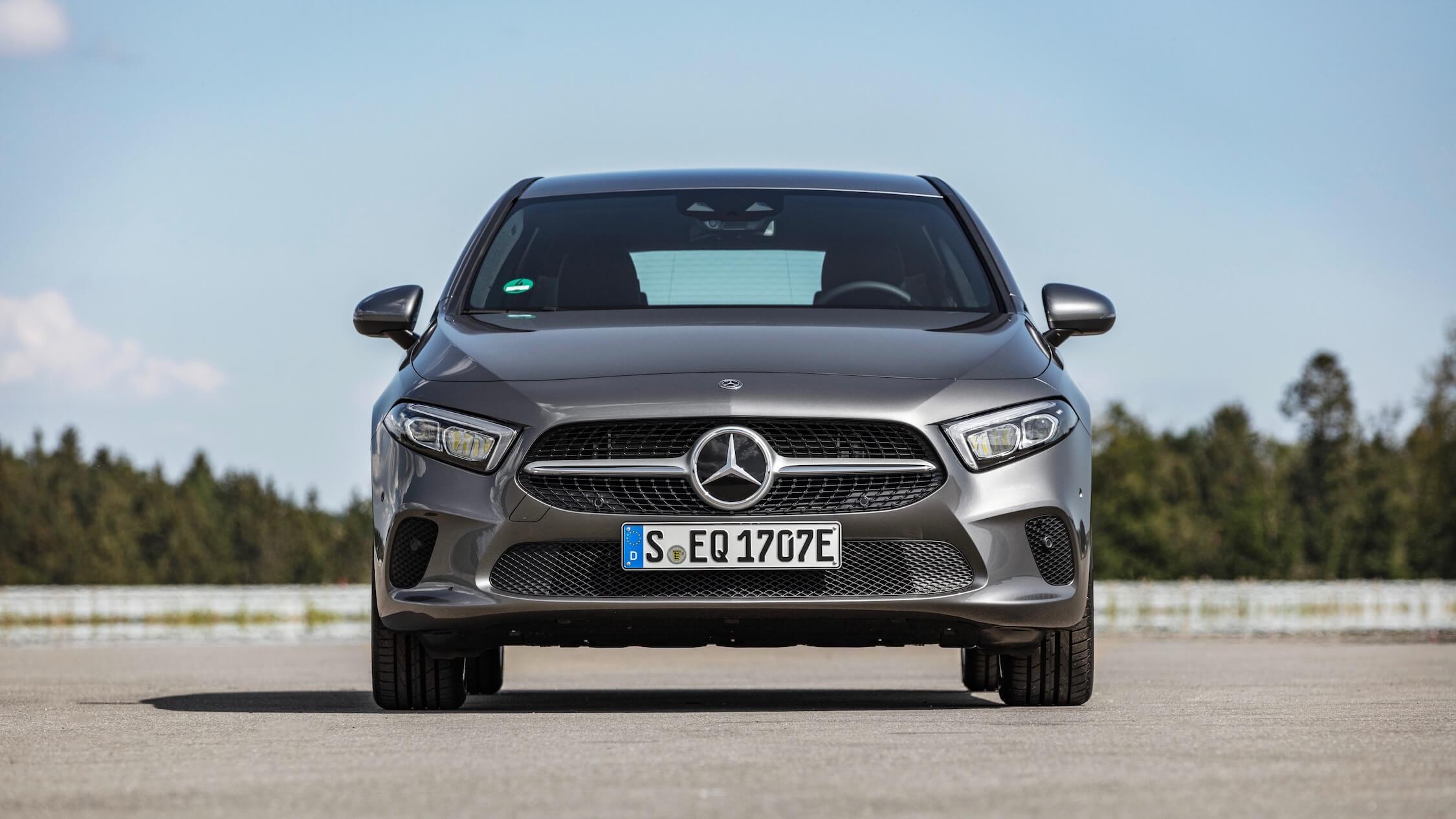 Mercedes A Class frente