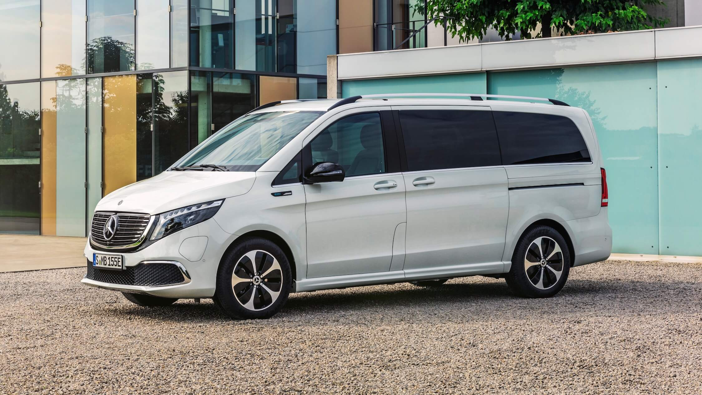 Mercedes EQC branco