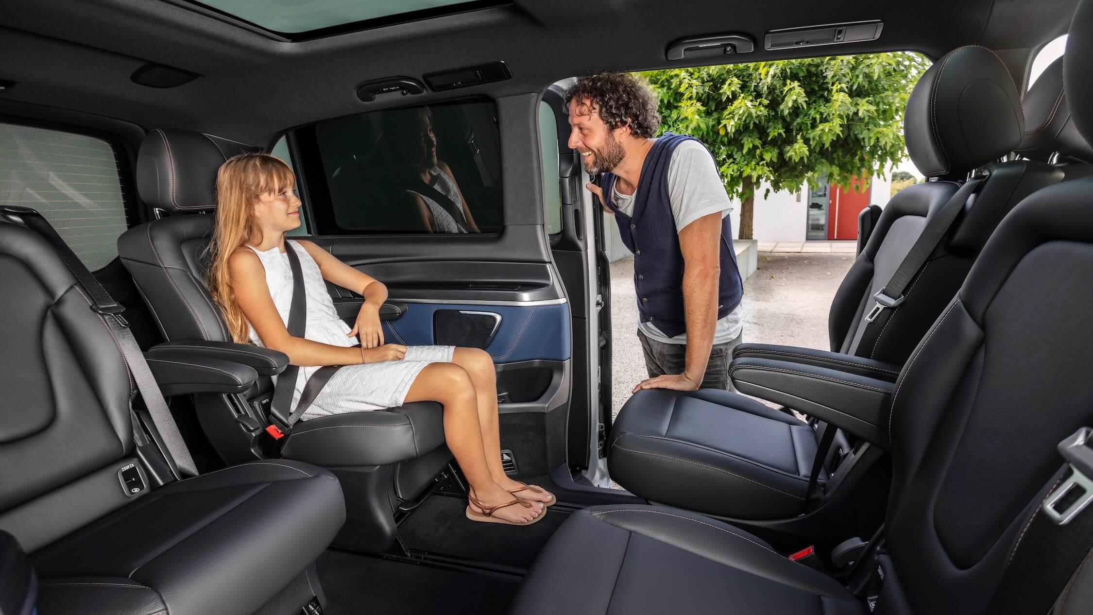 Mercedes EQV assentos