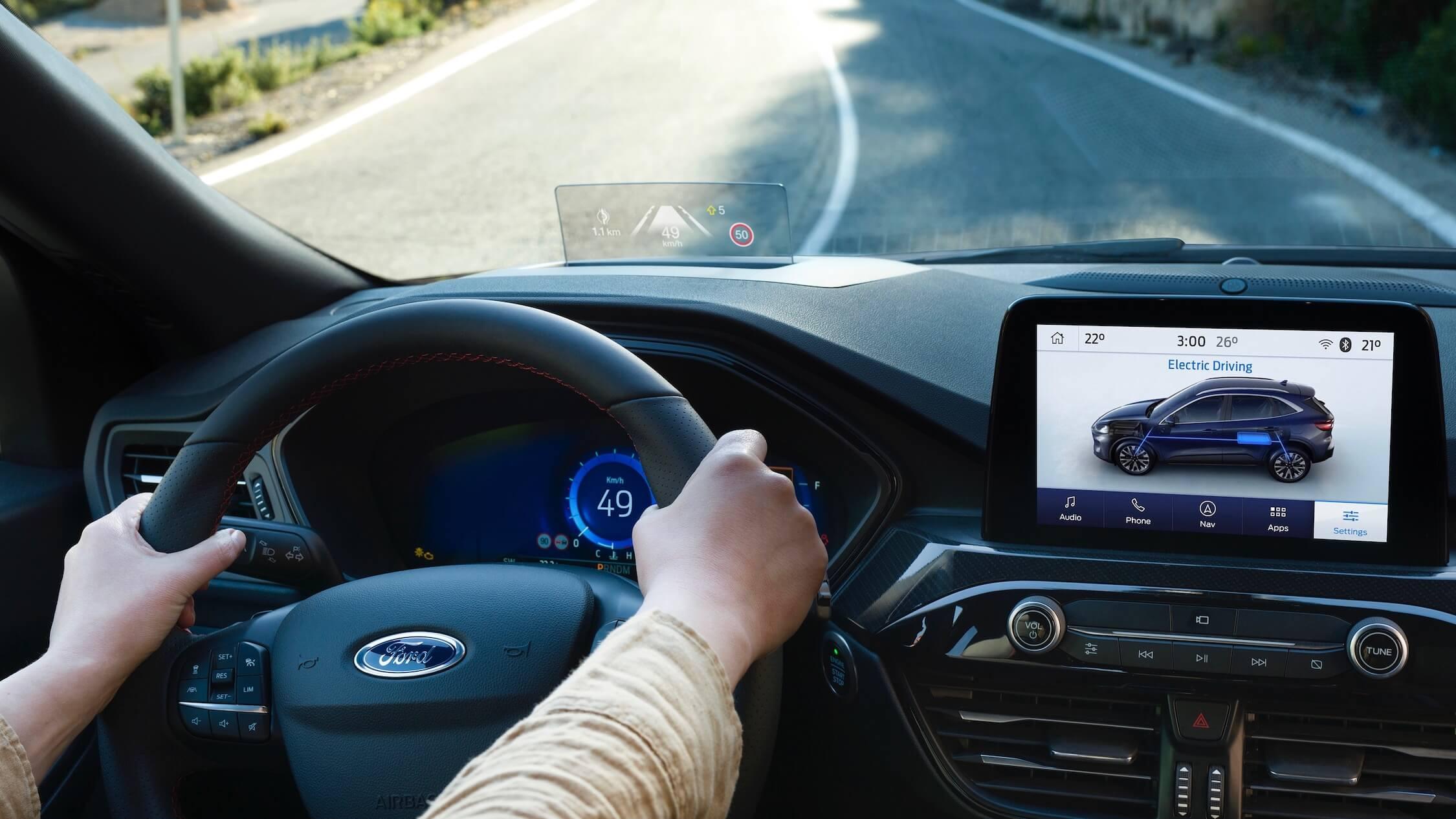 2019 Ford Kuga volante