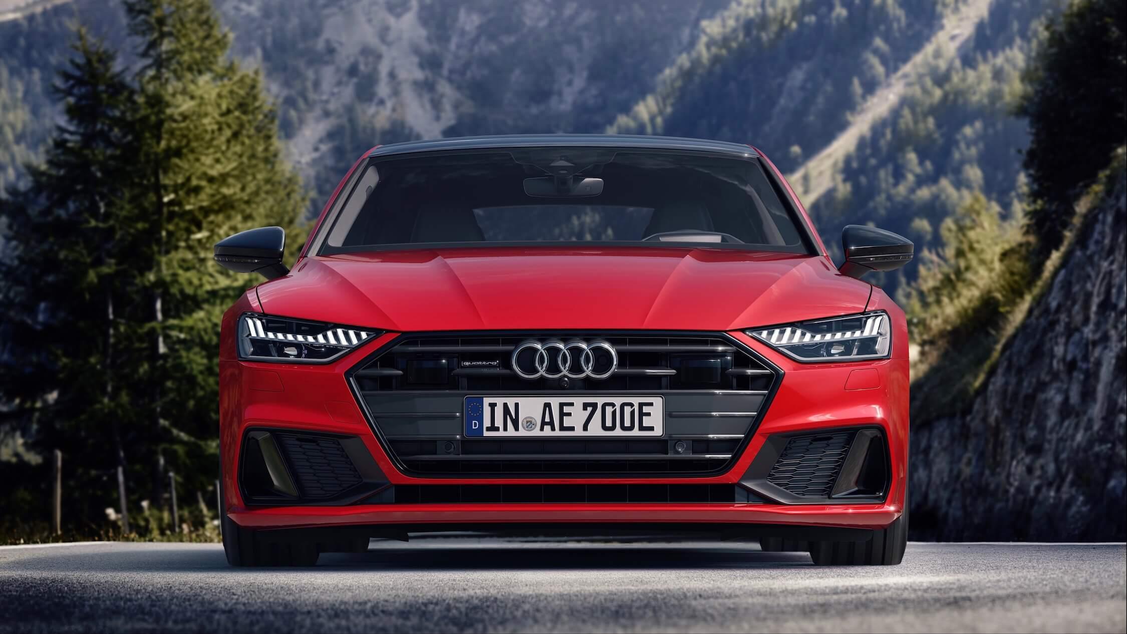 Audi A7 PHEV frente