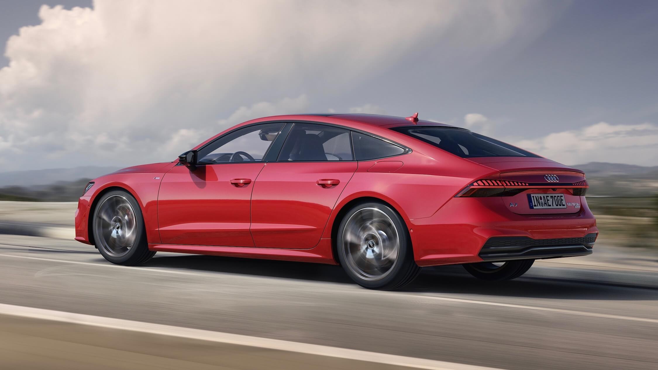 Audi A7 híbrido perfil