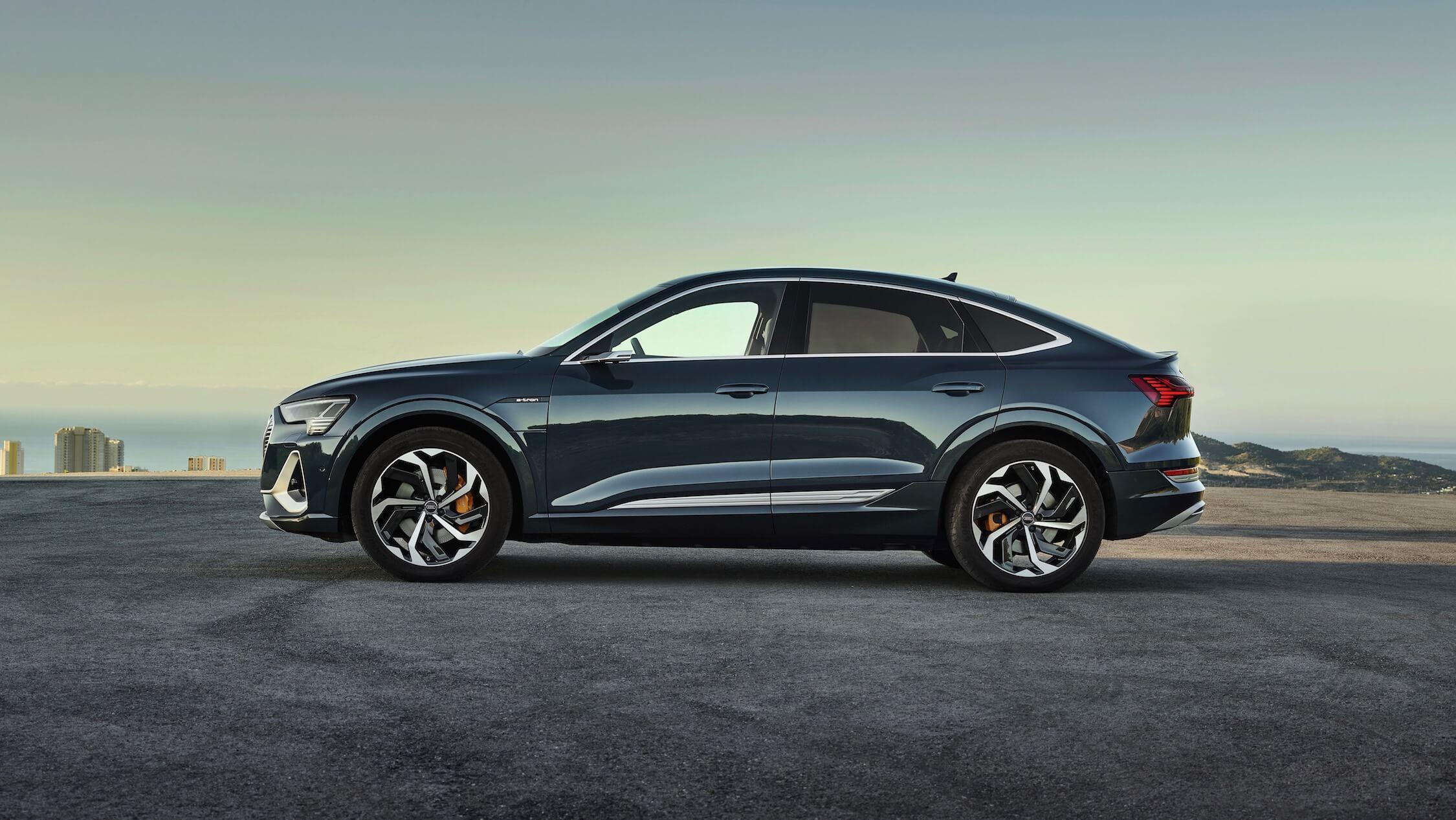 Audi e-tron Sportback perfil