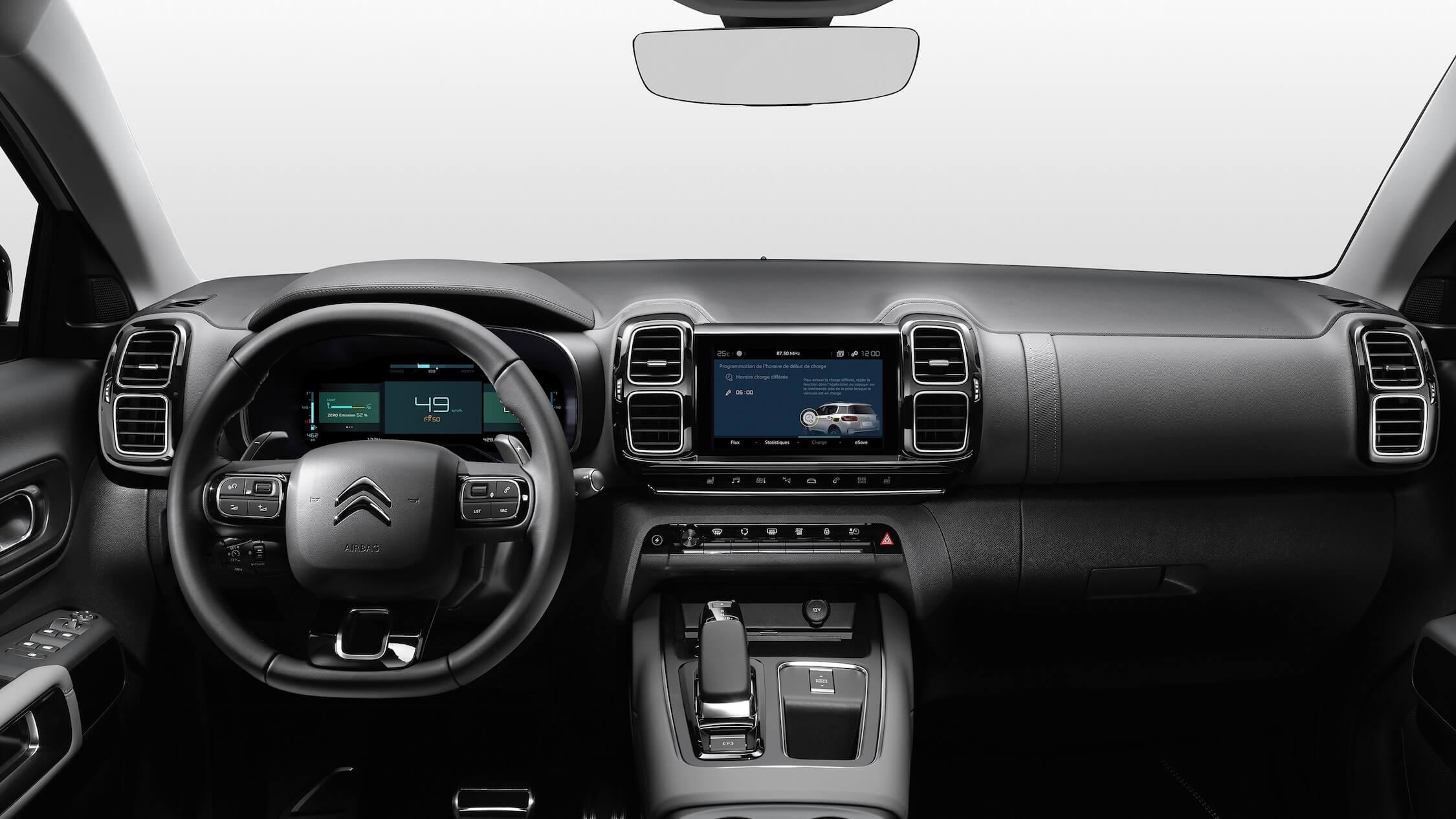 Citroën C5 híbrido interior