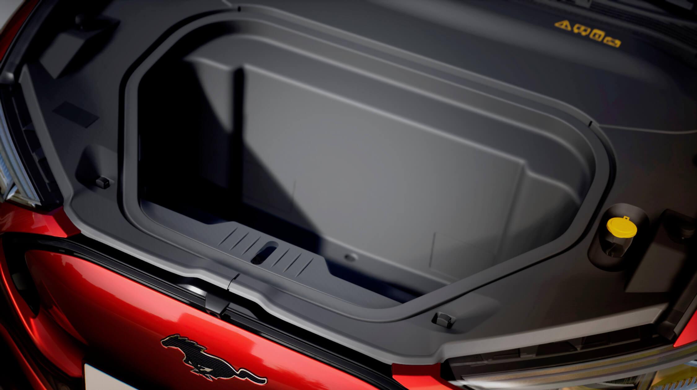 Ford Mustang elétrico frunk
