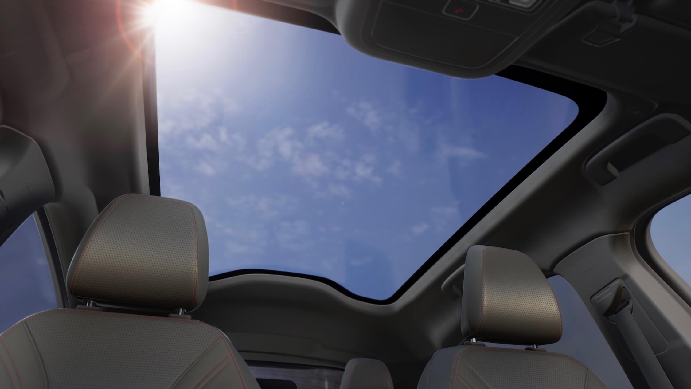 Ford Mustang elétrico teto solar