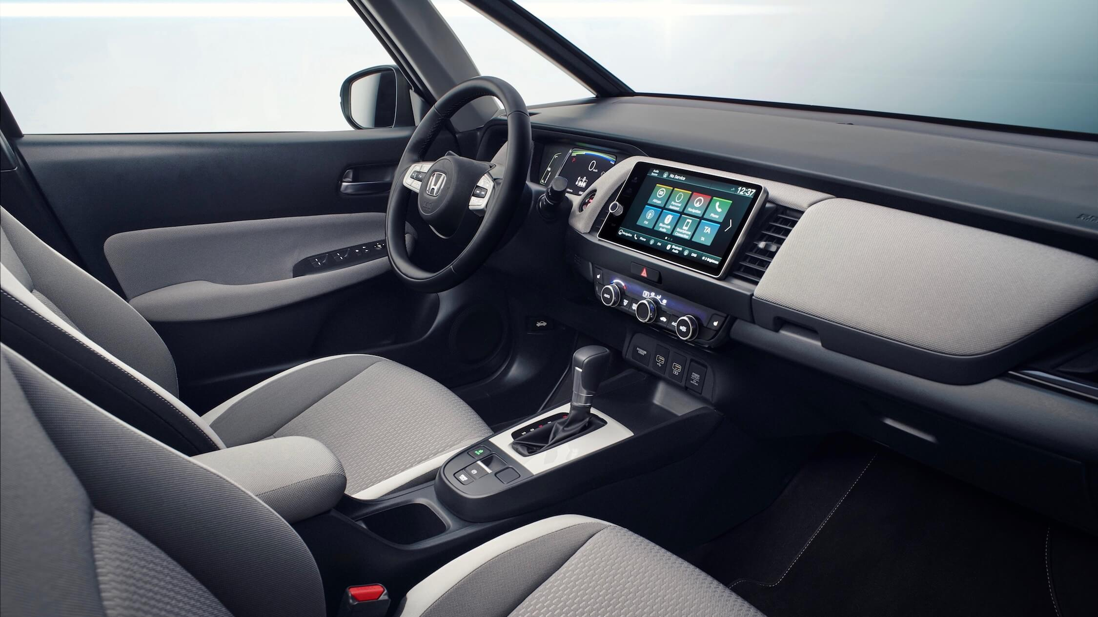 Honda Jazz novo interior