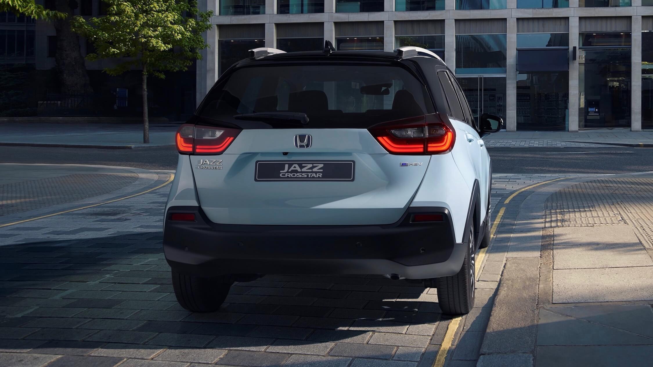 hybride Honda Jazz traseira
