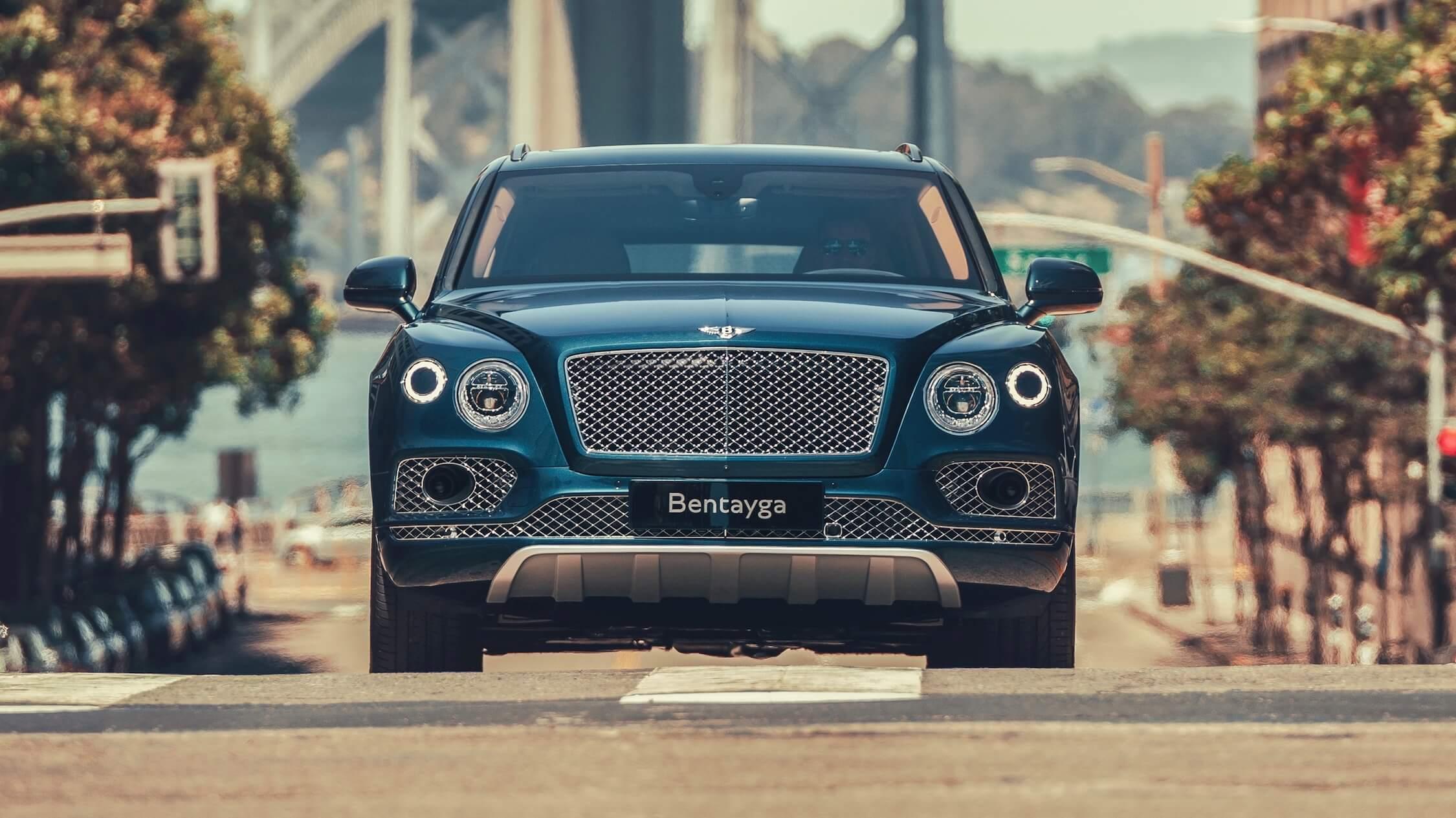 Bentley Bentayga frente
