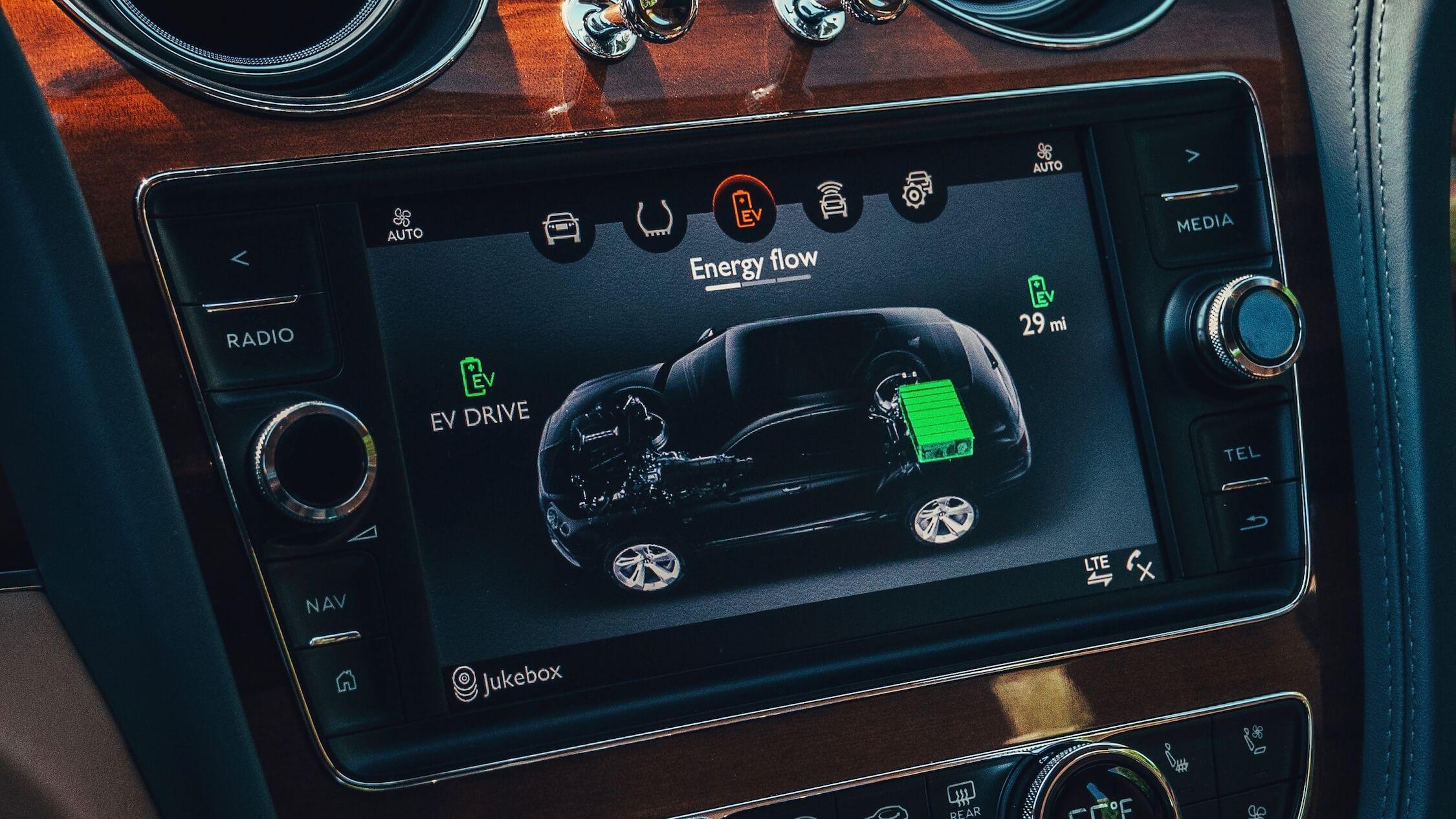 Bentley Bentayga híbrido bateria
