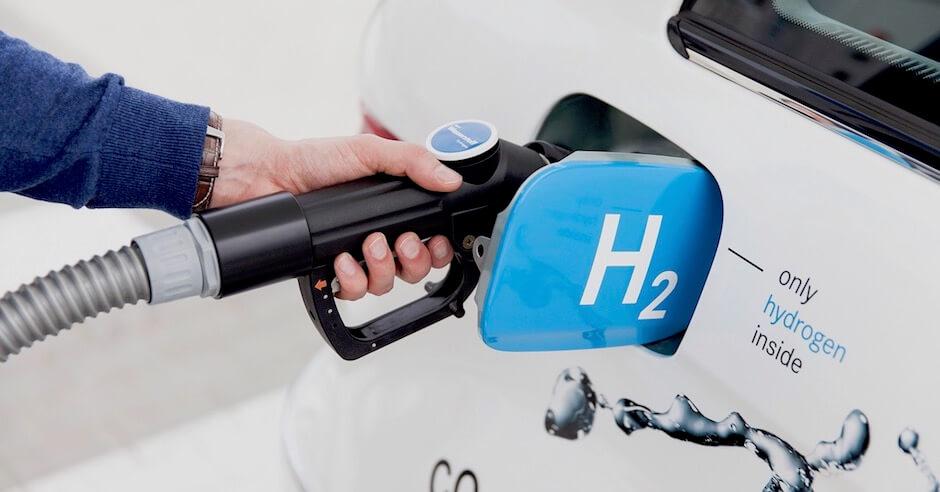 Abastecer carro a hidrogénio