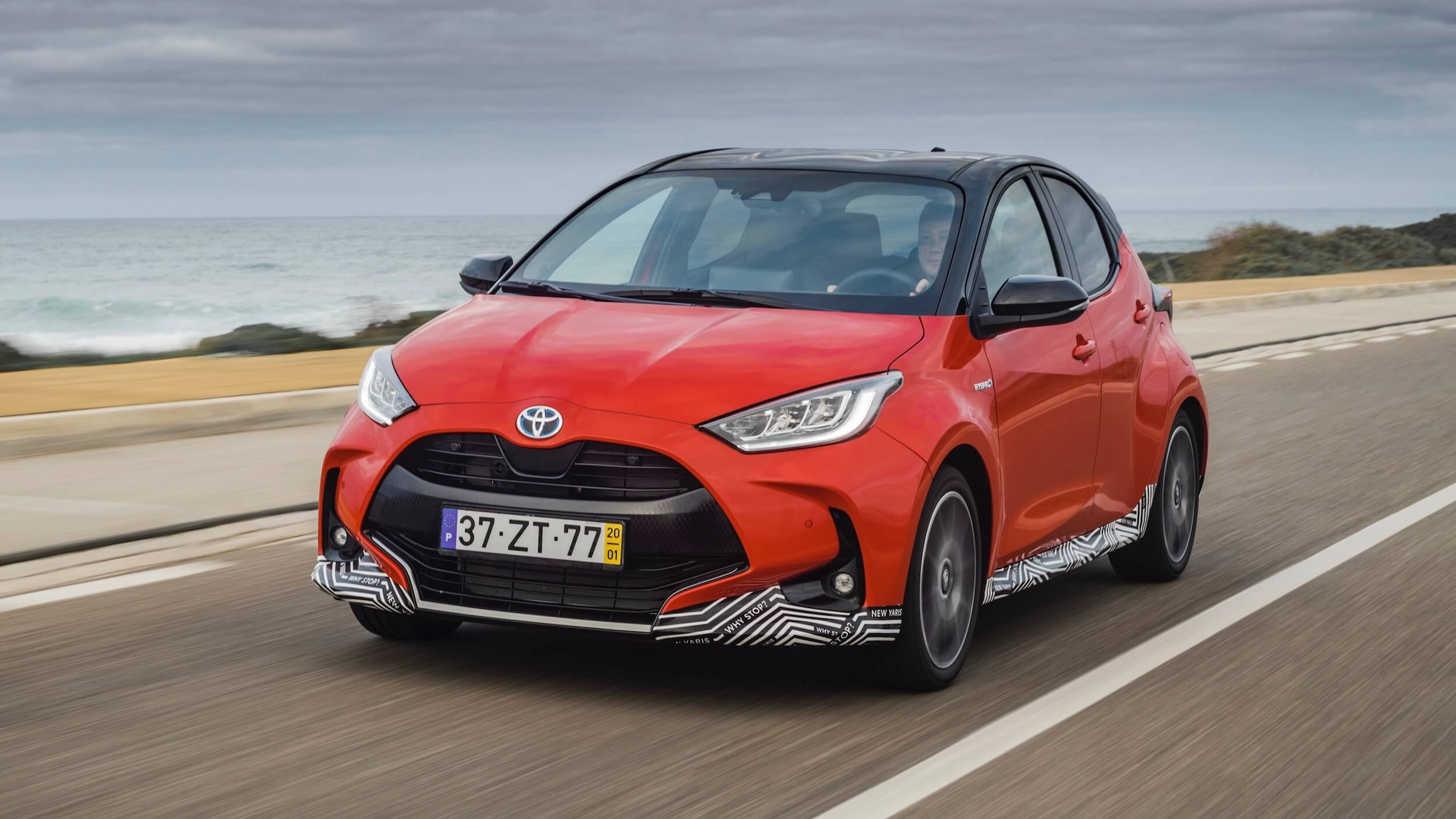 2021 Toyota Yaris hybrid