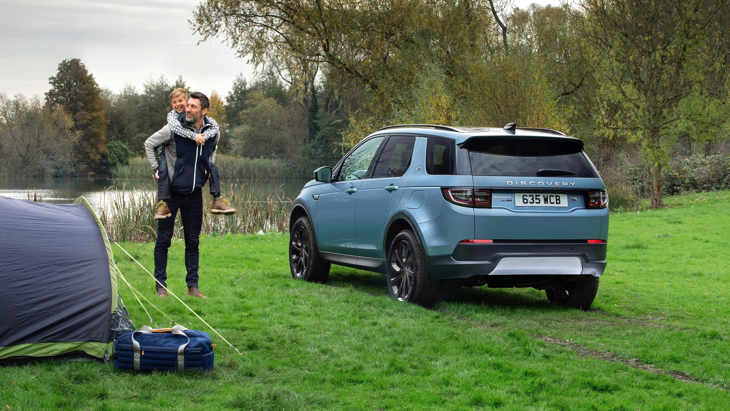 Land Rover Discovery Sport campismo