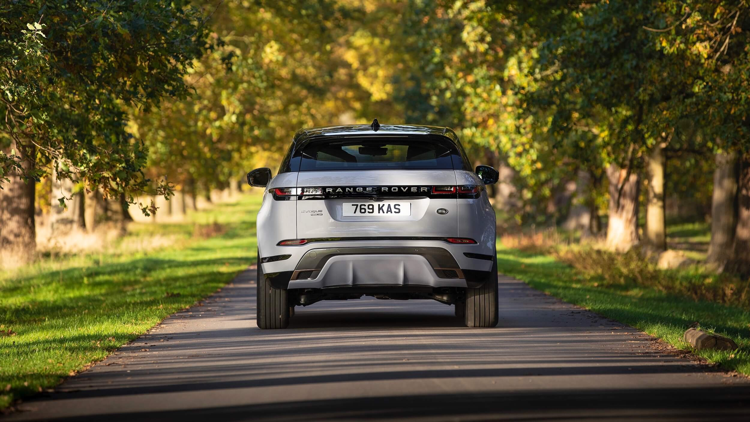 Range Rover Evoque traseira