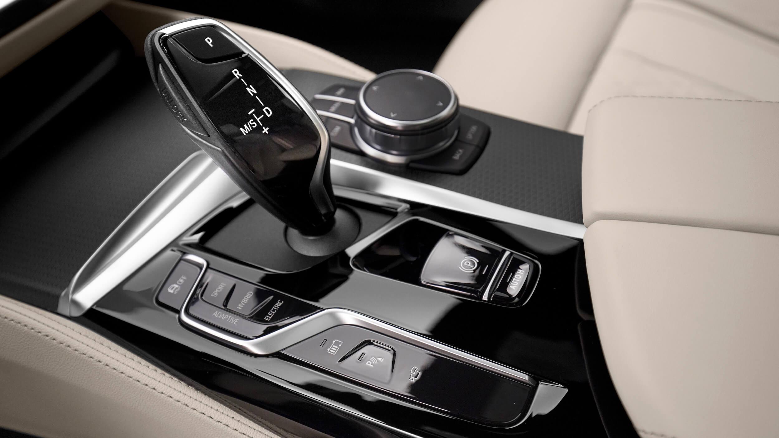 BMW 530e G30 facelift caixa de velocidades